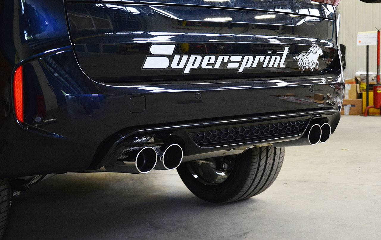 Performance sport exhaust for BMW E70 X5 M, BMW E70 X5 M V8