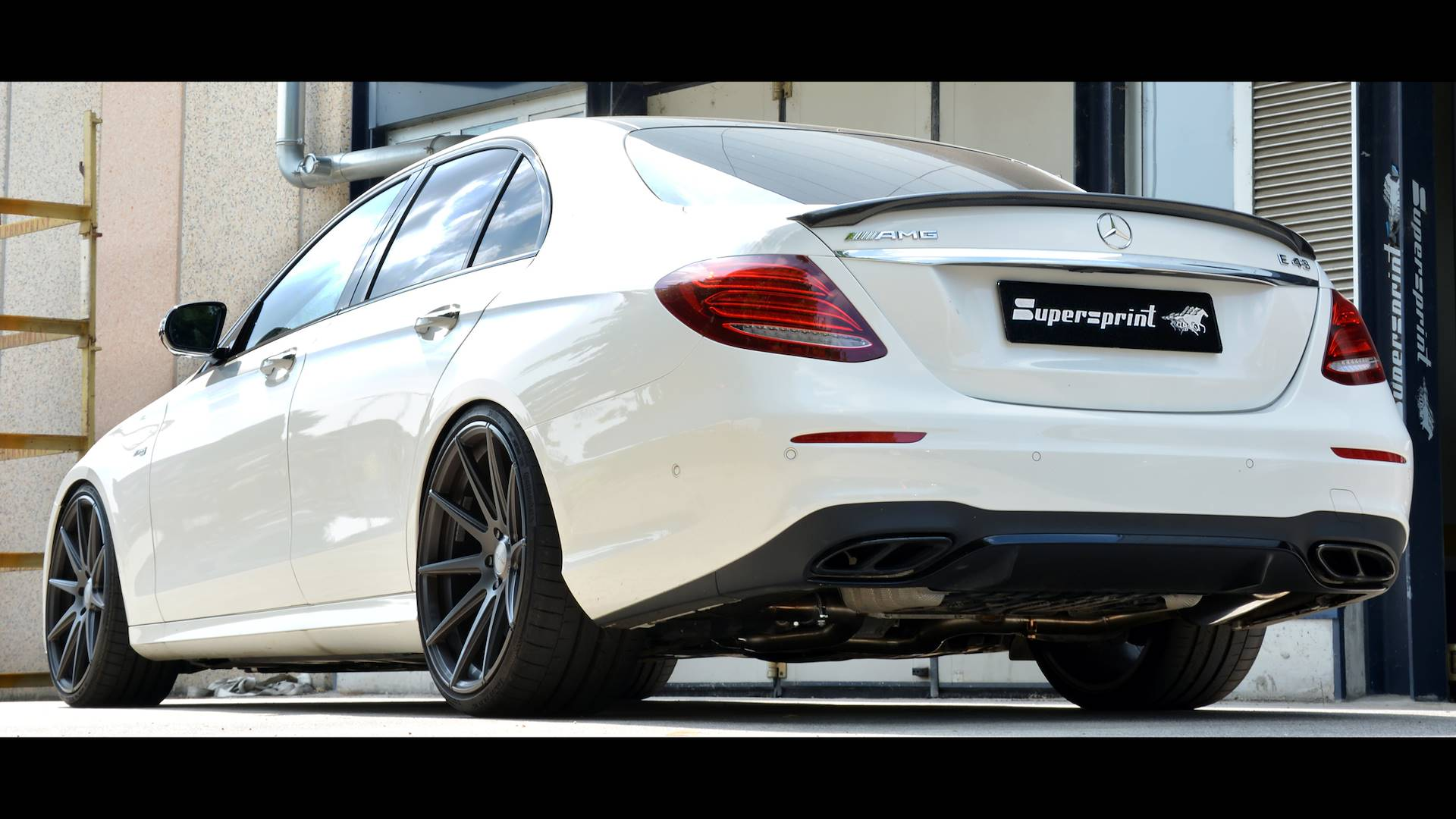 Mercedes W213 E 43 AMG - Supersprint full exhaust system
