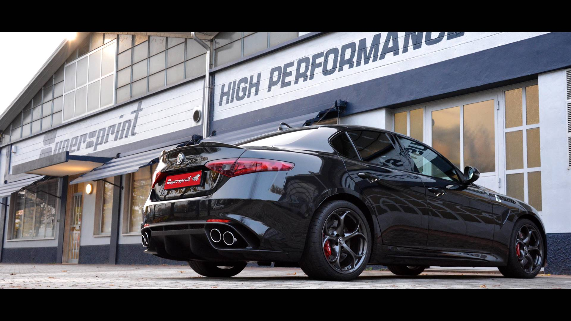Alfa Romeo Giulia Quadrifoglio - Supersprint full exhaust system with valve