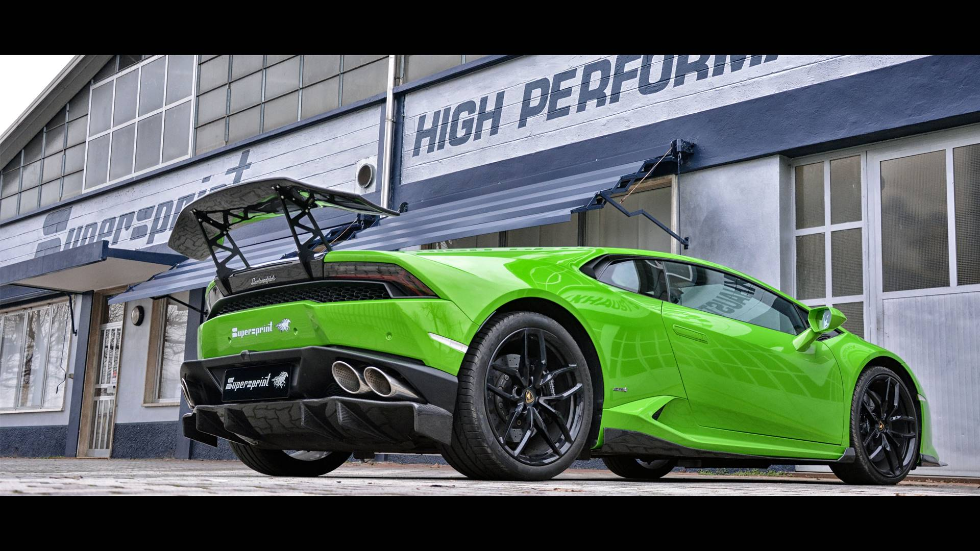 "Lamborghini Huracan LP 610-4 - Supersprint ""Racing"" exhaust"