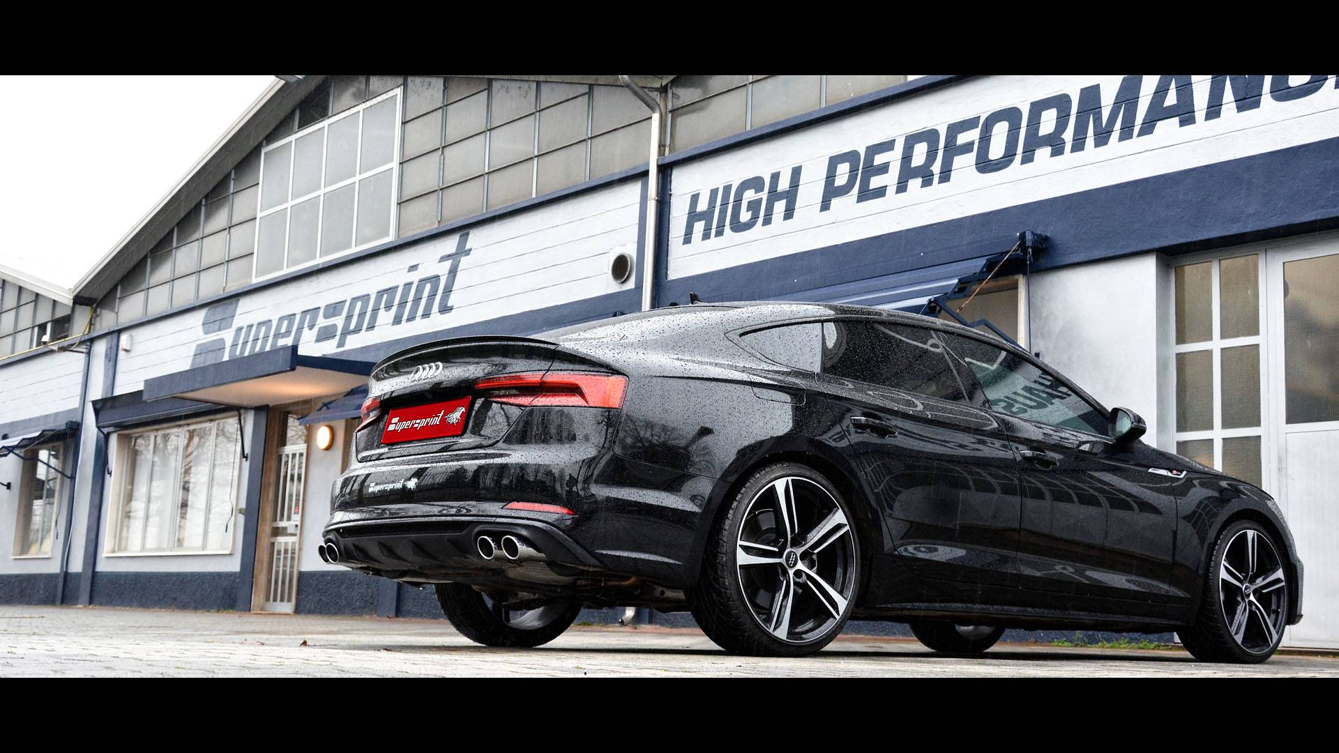 AUDI A5 B9 Sportback 2.0 TFSI - Supersprint full exhaust system