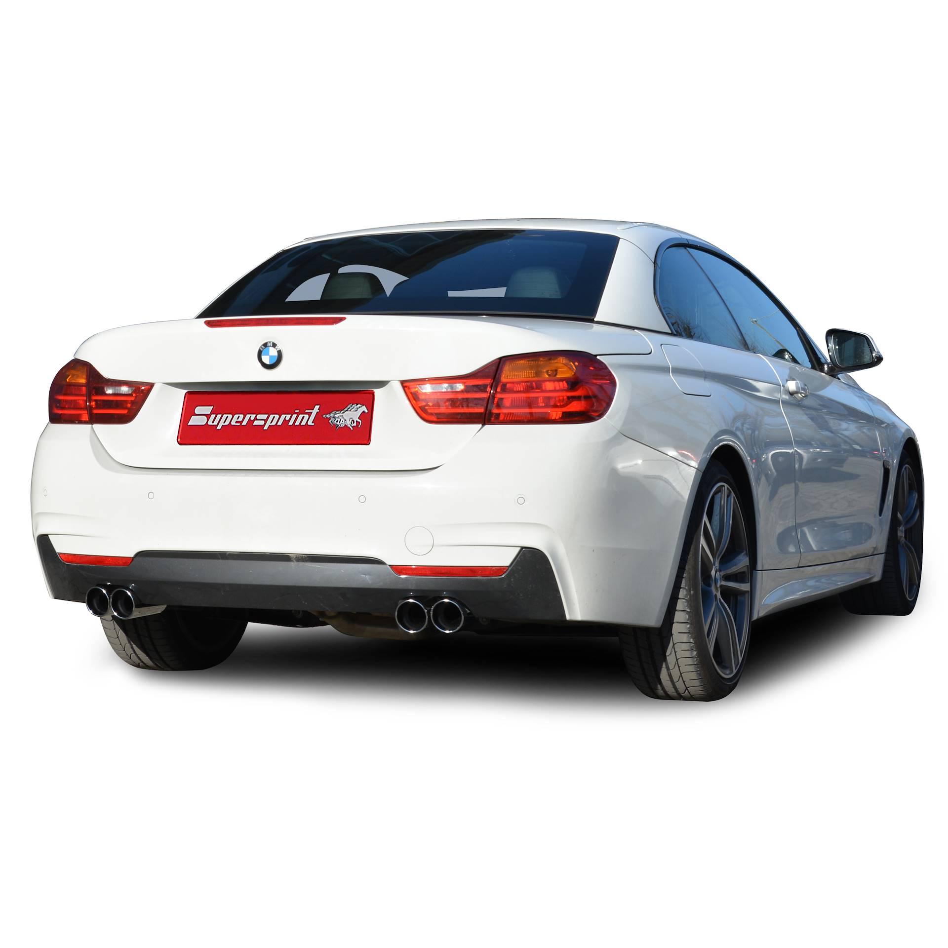 BMW F20 / F21 M135i (320 Hp) 2012 -> Full Supersprint