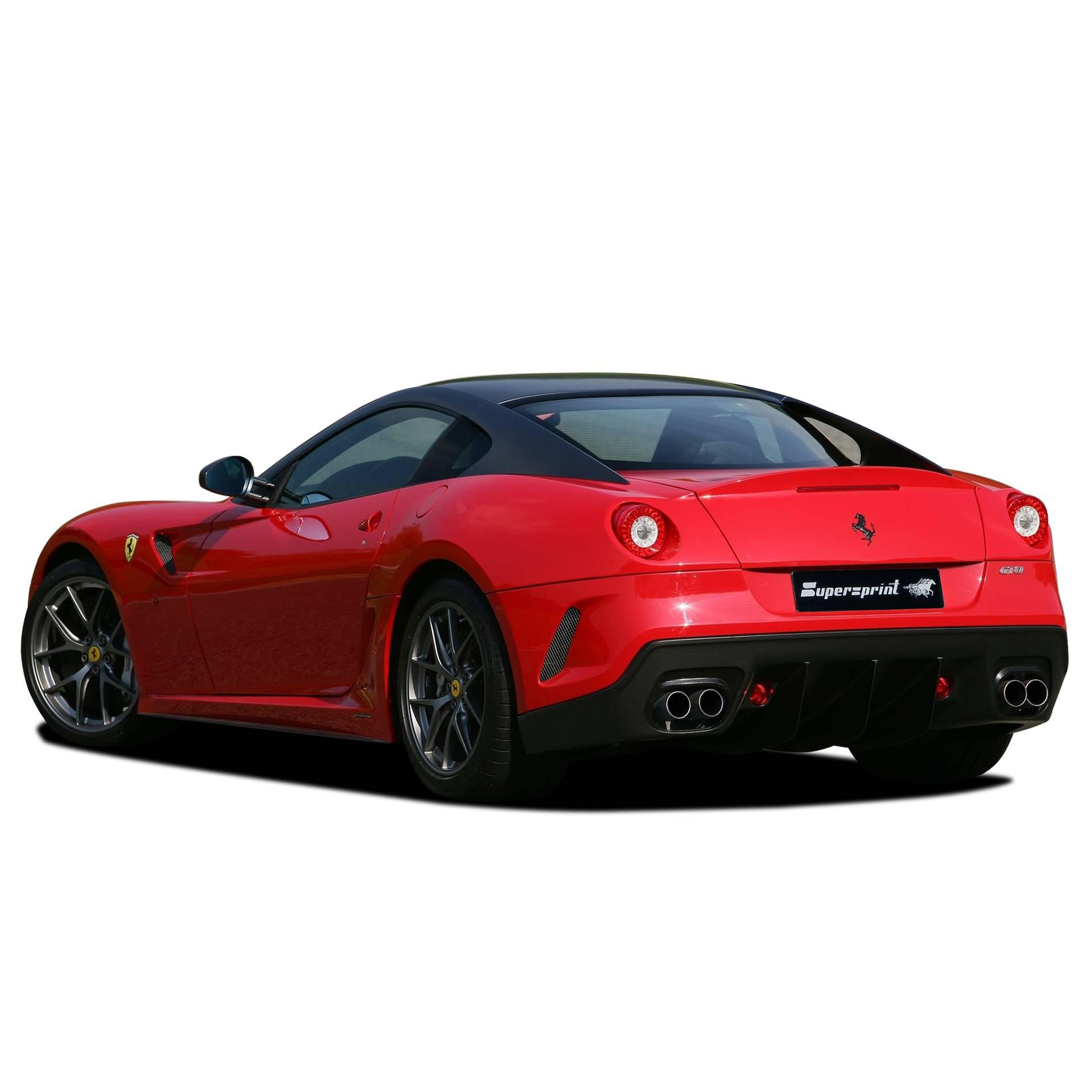 Sportauspuff Anlage Für FERRARI 599 GTO, FERRARI 599 GTO 6