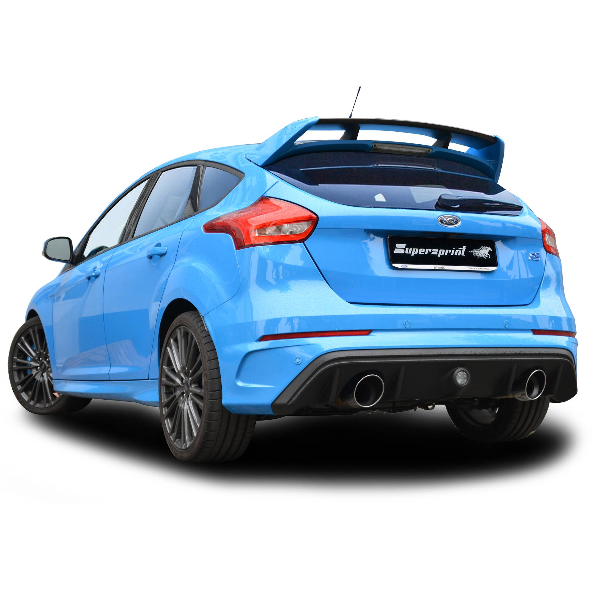 performance sport exhaust for ford focus rs mk3 with valve. Black Bedroom Furniture Sets. Home Design Ideas