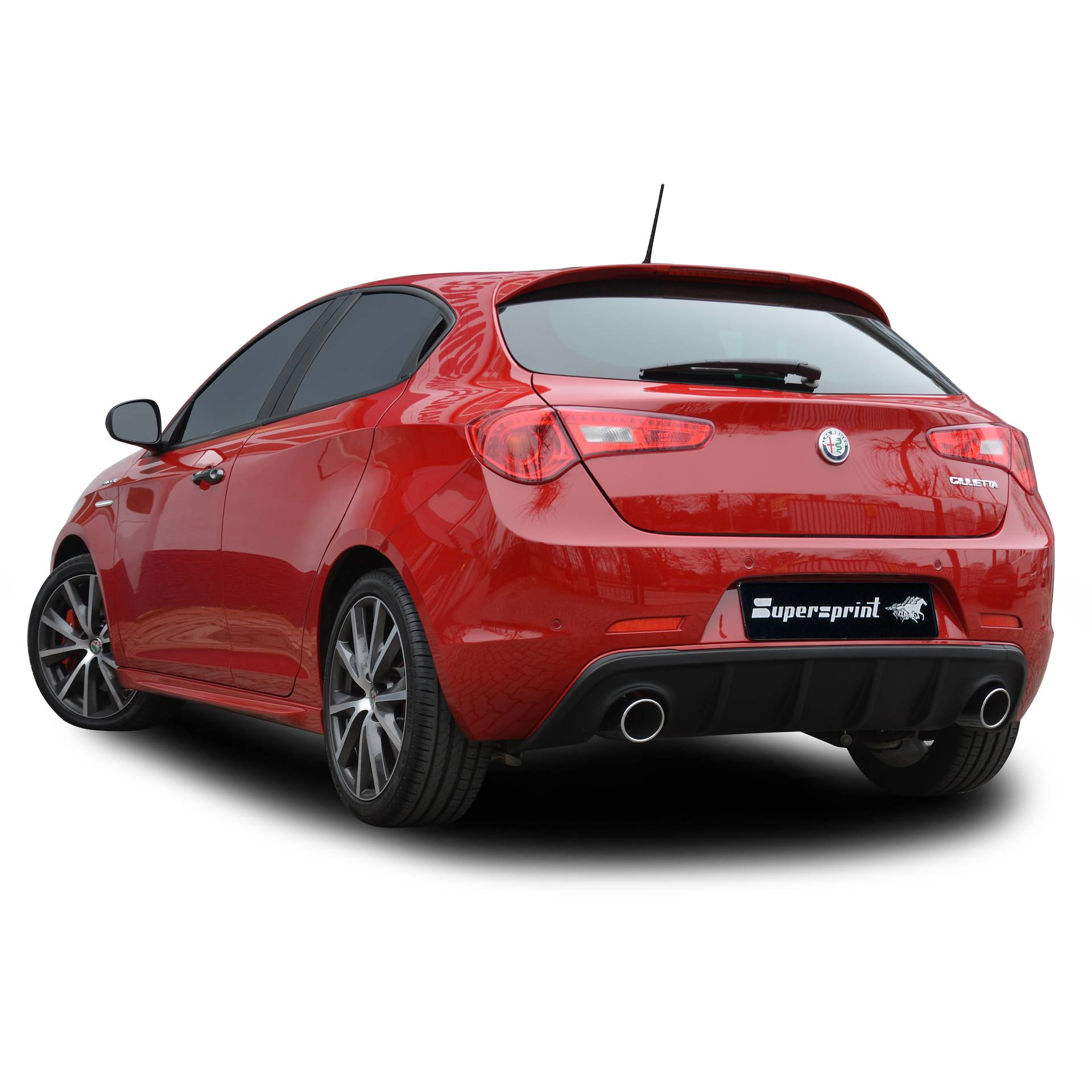 Performance Sport Exhaust For ALFA ROMEO GIULIETTA Veloce