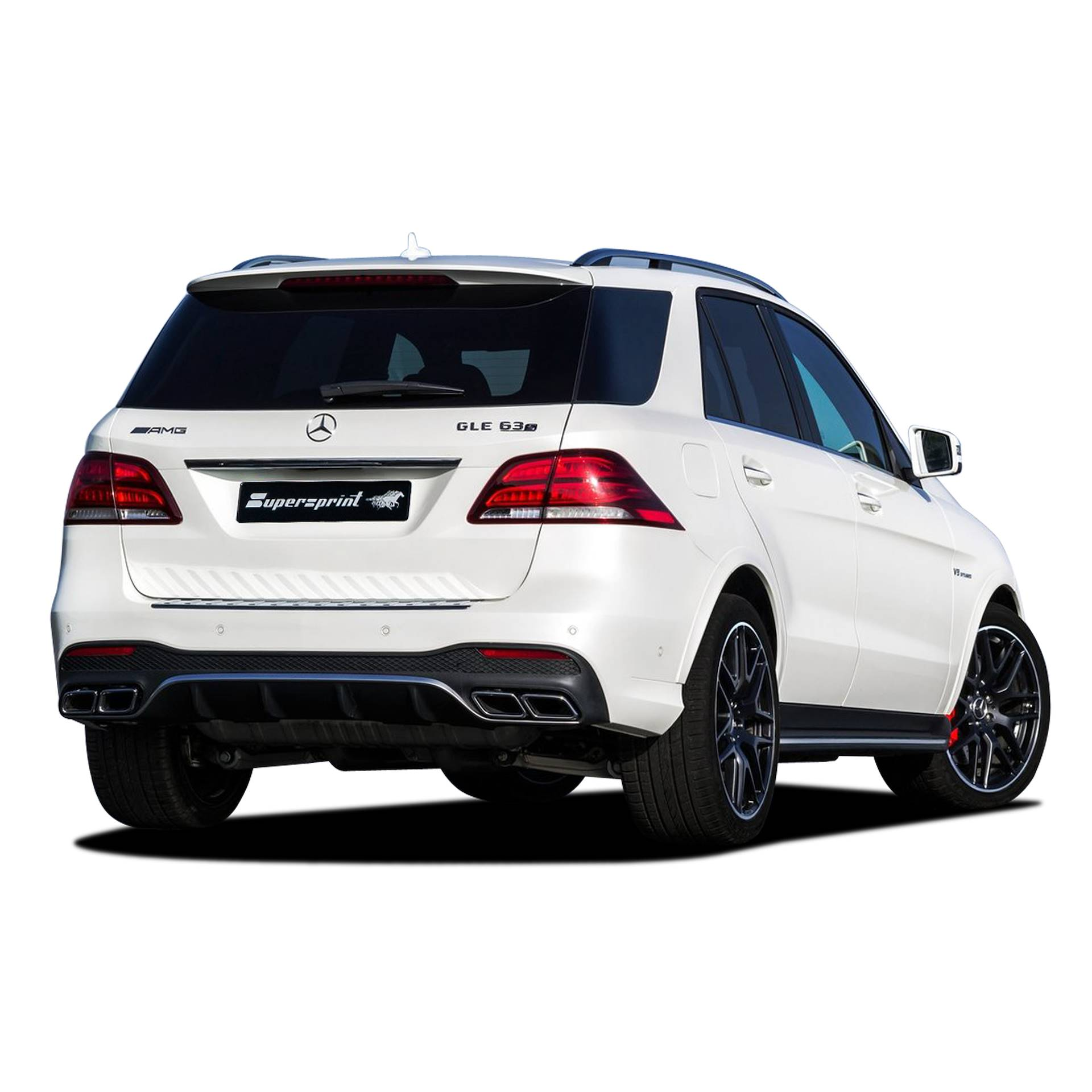 performance sport exhaust for mercedes w166 gle 63 s amg. Black Bedroom Furniture Sets. Home Design Ideas