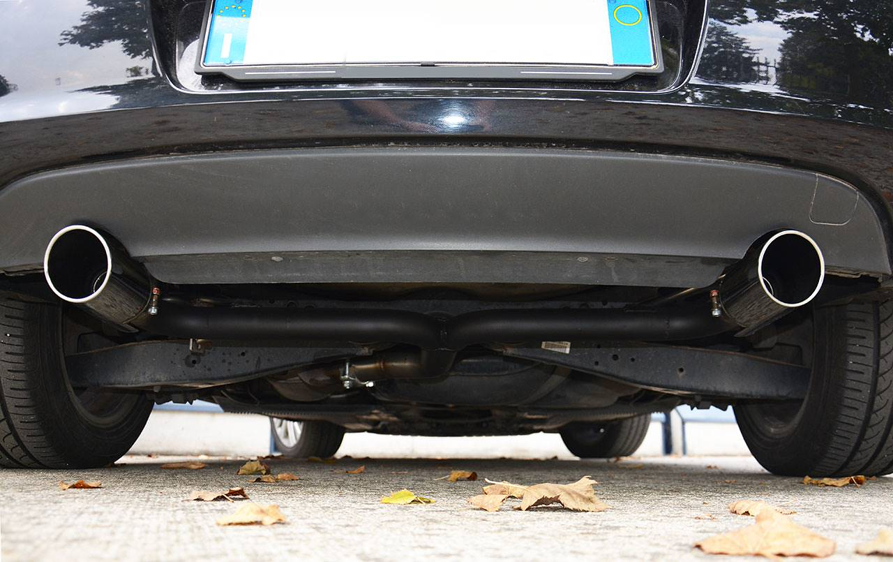 Golf 6 1.6 TDI dual exhaust Supersprint 764644 + 764616 + 764698
