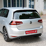 New sport exhaust for Golf Mk7 GTD 184 hp