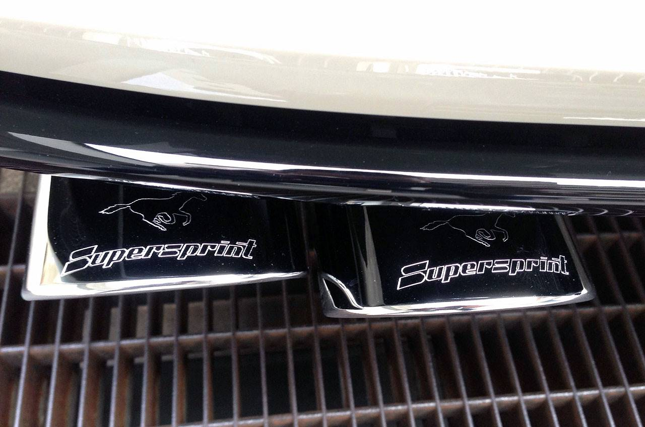 771727 Supersprint sport exhaust on Golf mk7 r