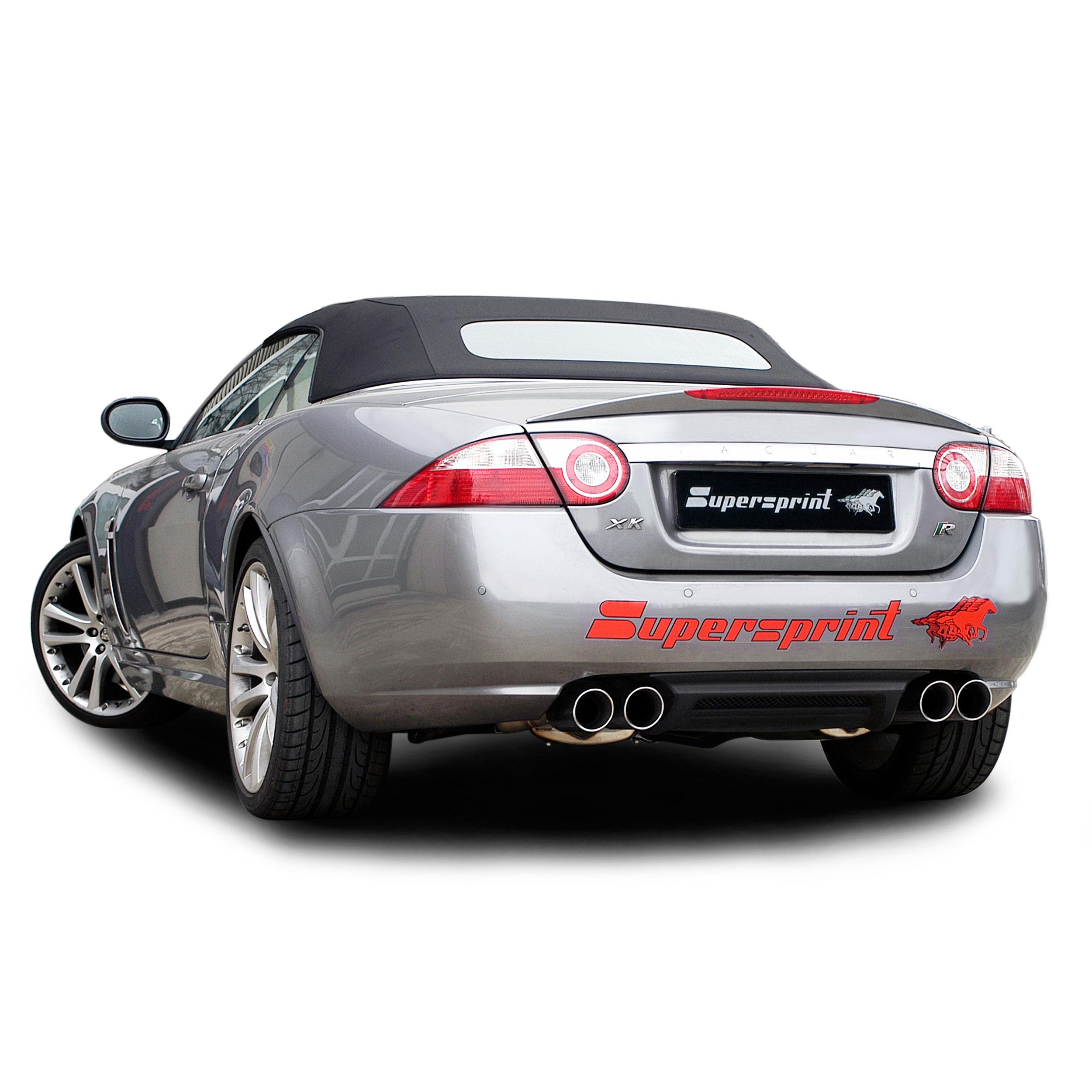 jaguar xkr coup cabrio v8 supercharged 39 06. Black Bedroom Furniture Sets. Home Design Ideas