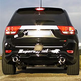 Grand Cherokee SRT8 sound with full Supersprint exhaust system (with valves)