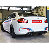 BMW M2 Coupè (370 Hp) sound with Supersprint exhaust system with valve