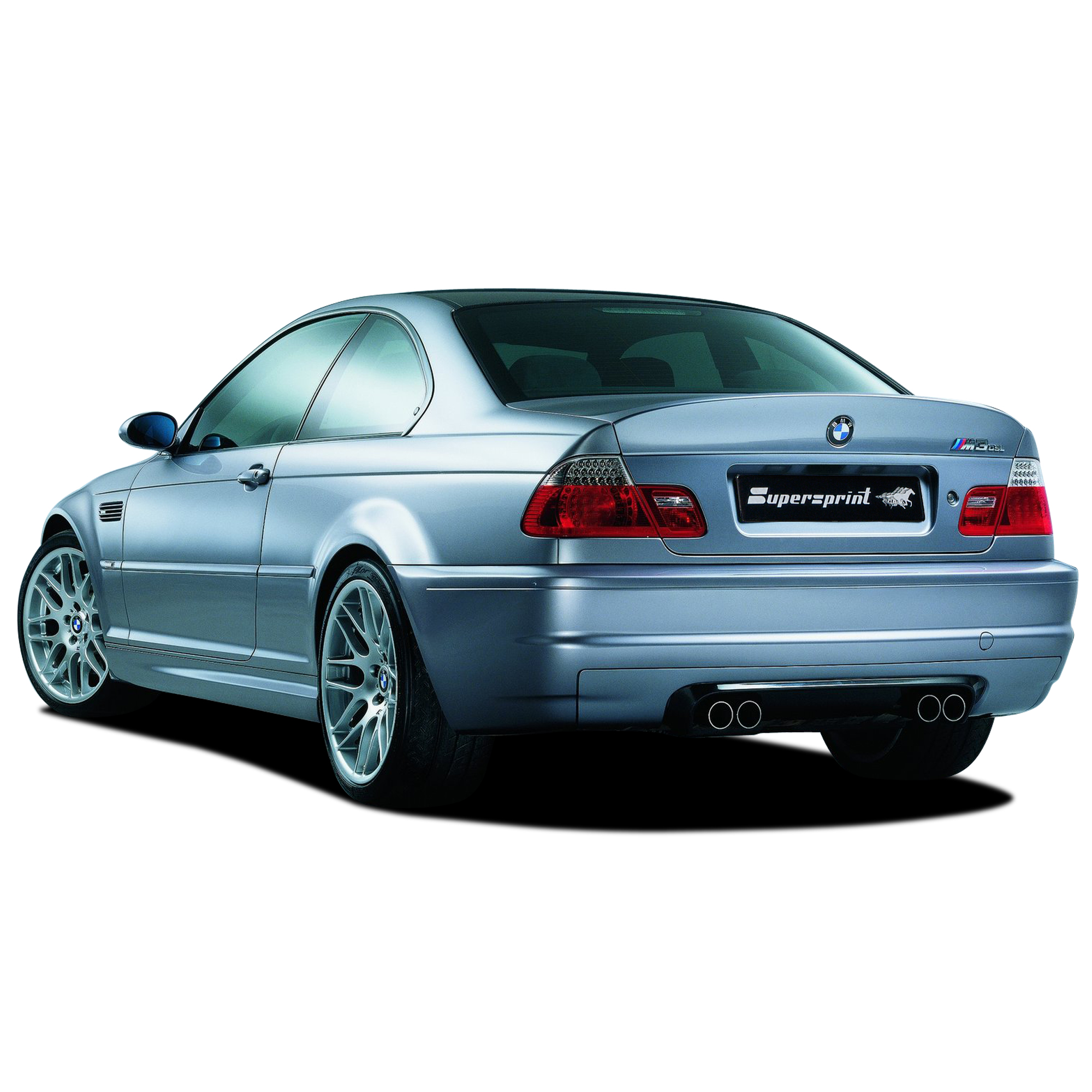 Performance Sport Exhaust For BMW E46 M3 CSL Ø60mm, BMW