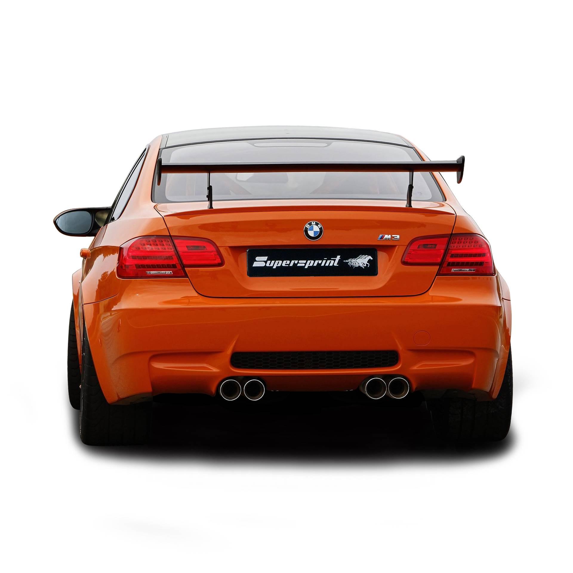 Supersprint udstødning til BMW E92 Coupè M3 GTS