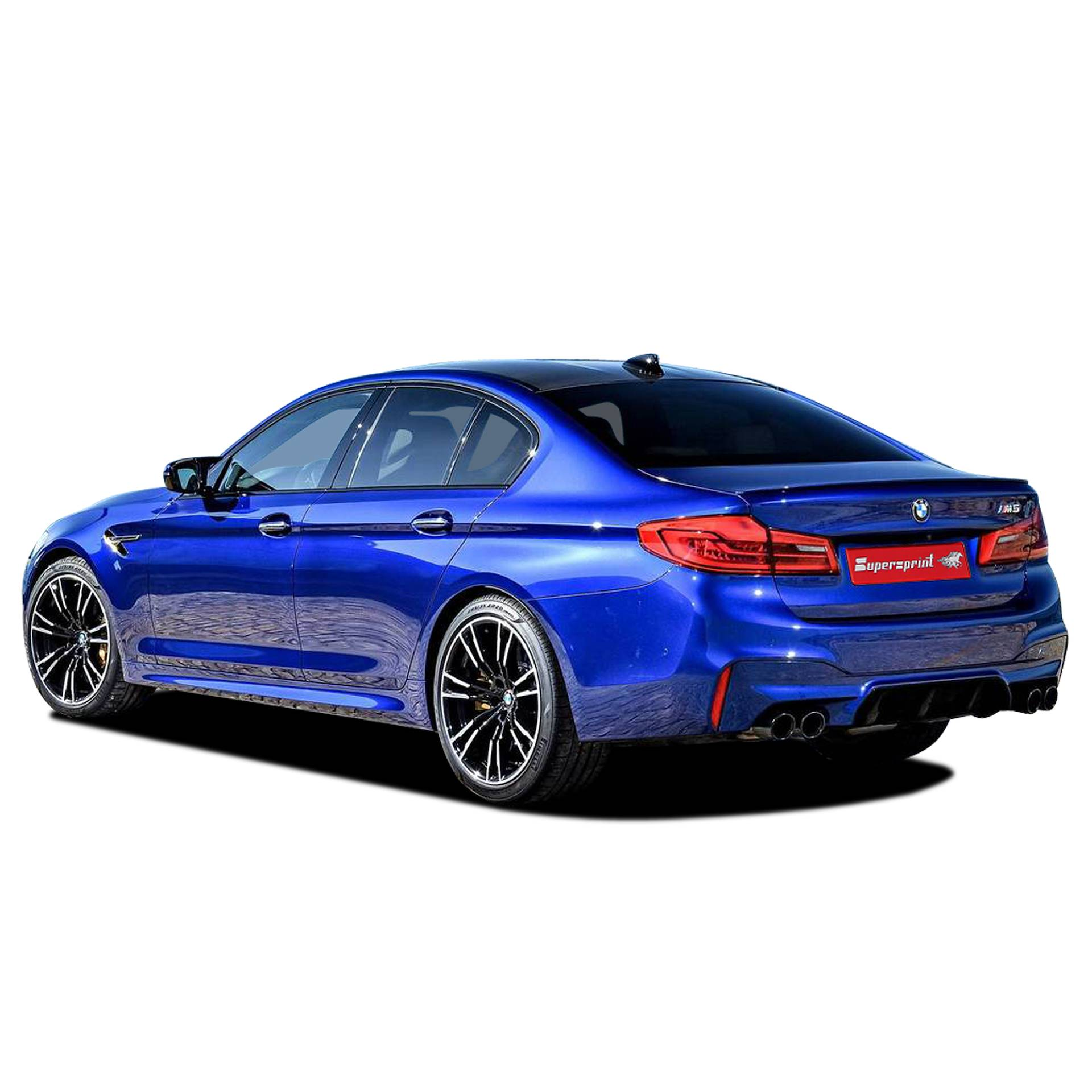 BMW F90 M5 M xDrive 4.4i V8 (S63M - 600 Hp - models with OPF) 2019 ->
