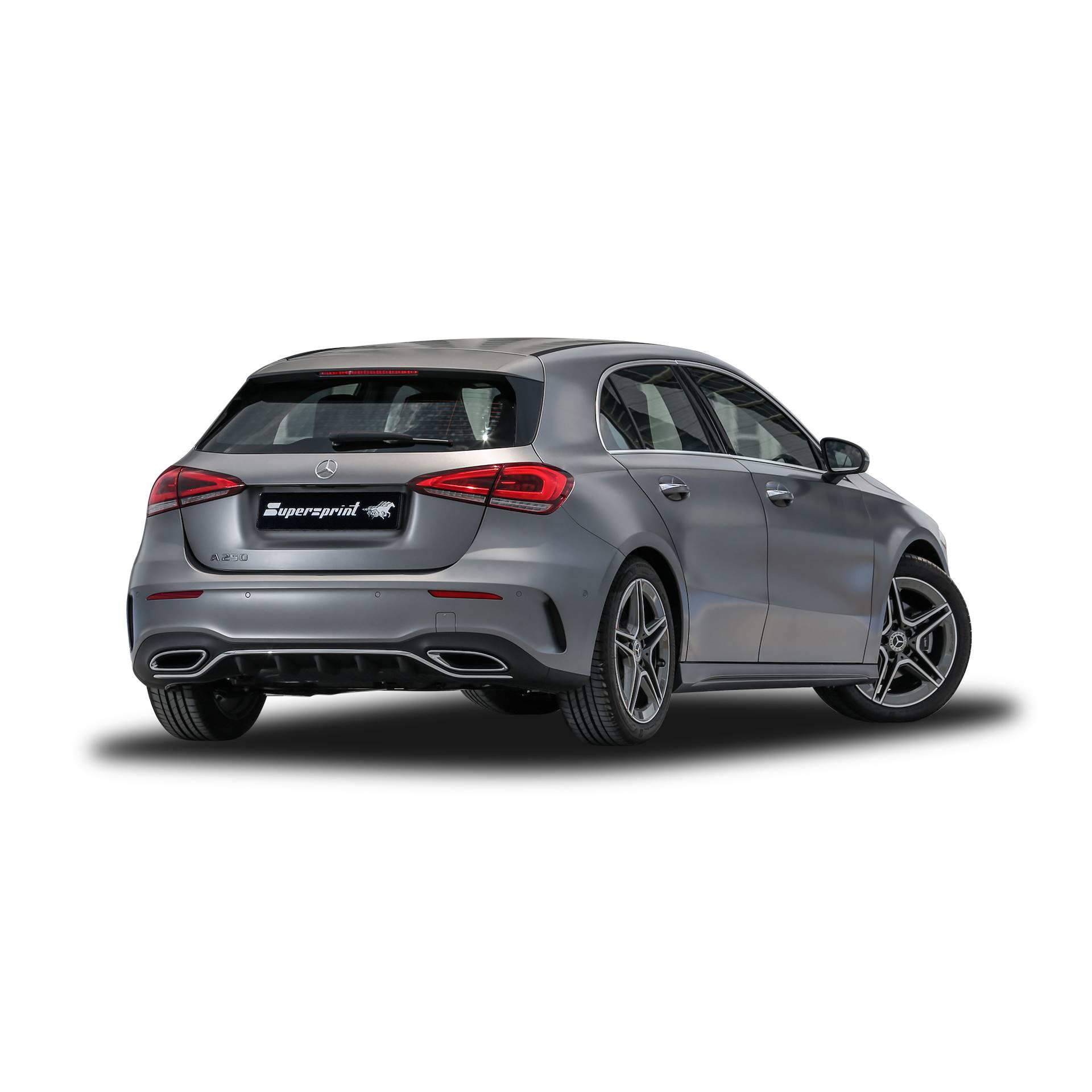 Mercedes A250 Sport: Performance Sport Exhaust For MERCEDES W177 A 250
