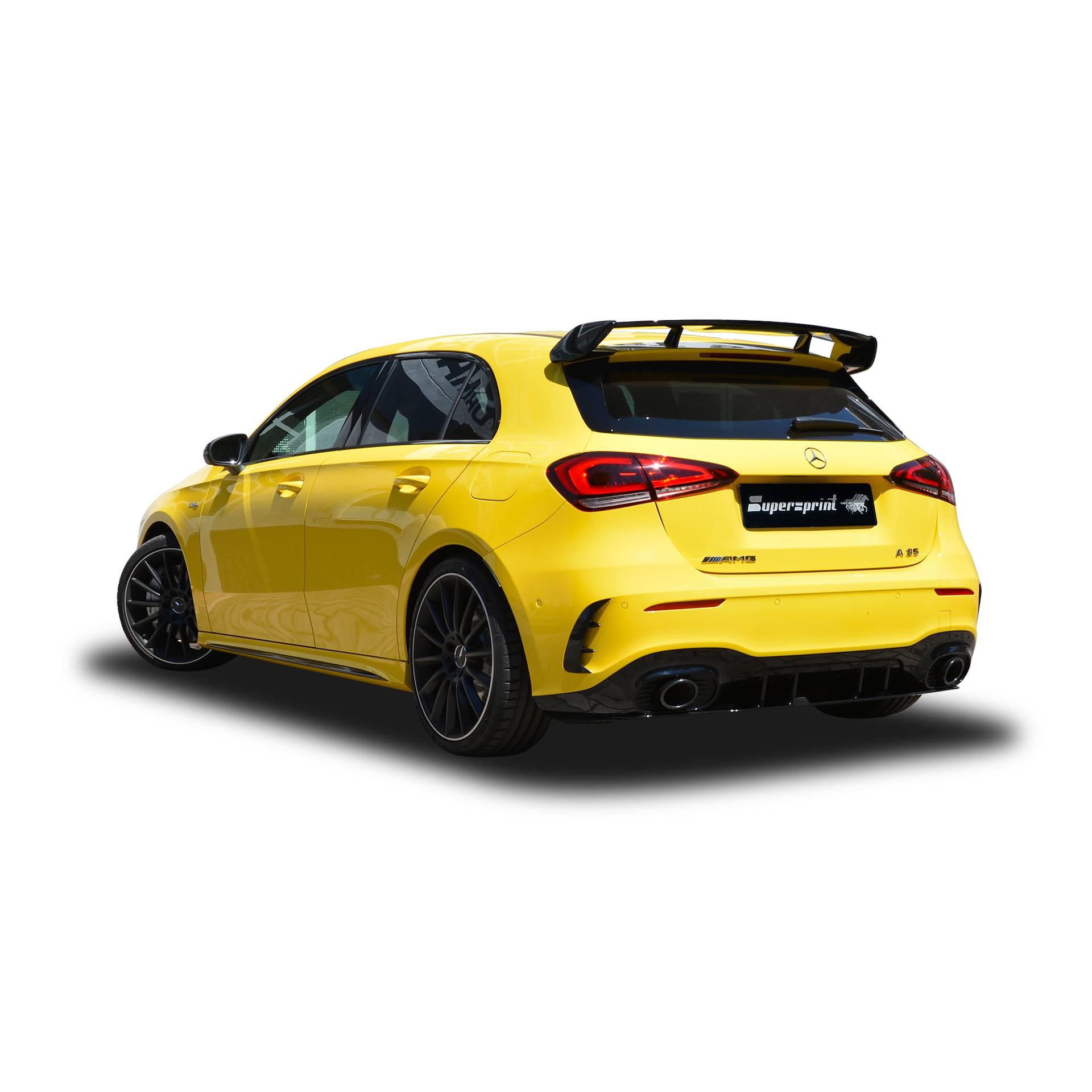 Supersprint udstødning til Mercedes W177 AMG