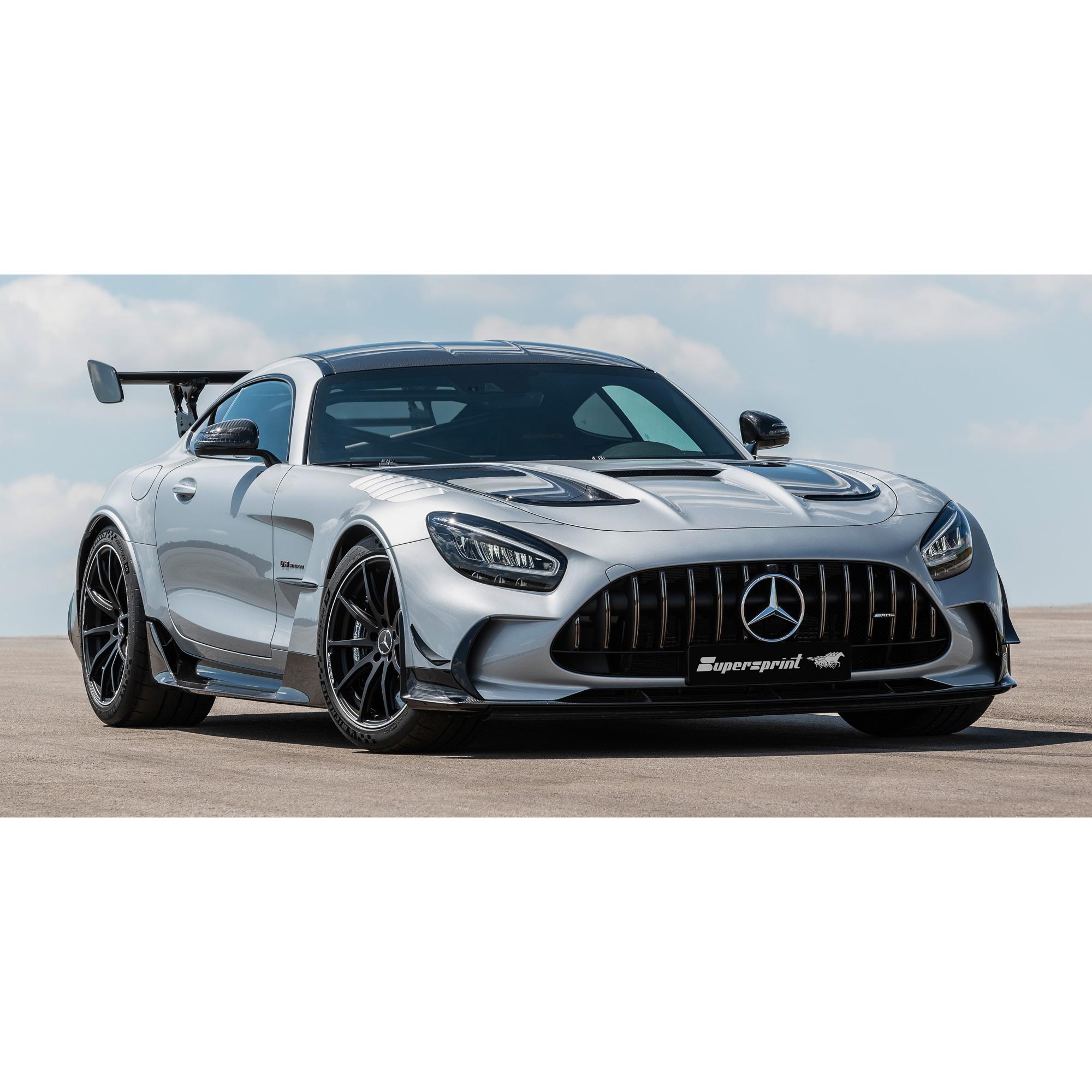 Supersprint Sportsudstødning til Mercedes C190 AMG GT