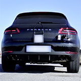 PORSCHE MACAN S 3.0 TDi V6 sound with Supersprint full exhaust system