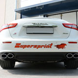 New high performance sport exhaust for Maserati Ghibli ( V6, S, S Q4)