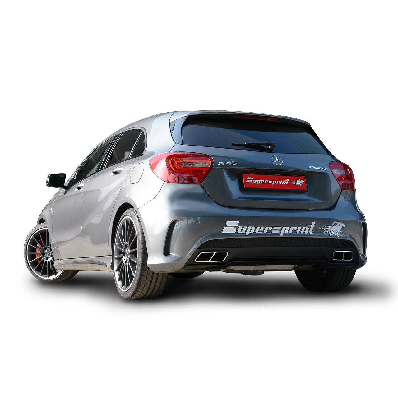 New Supersprint Performance Exhaust For Mercedes A45 Amg