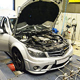 New RHD long tube headers for Mercedes C63 AMG W204 sedan / wagon & C204 coupè