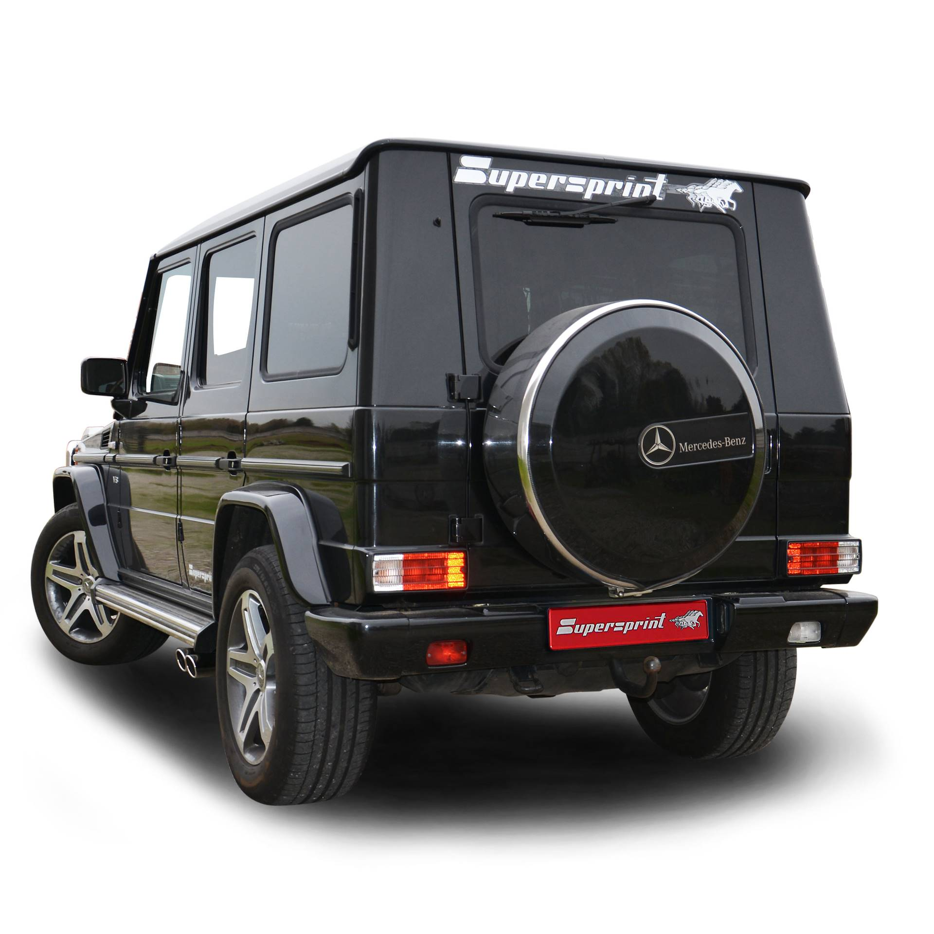 Mercedes - MERCEDES W463 (4-door) G500 V8 (M113 3v Engine) 1998 -> 2008