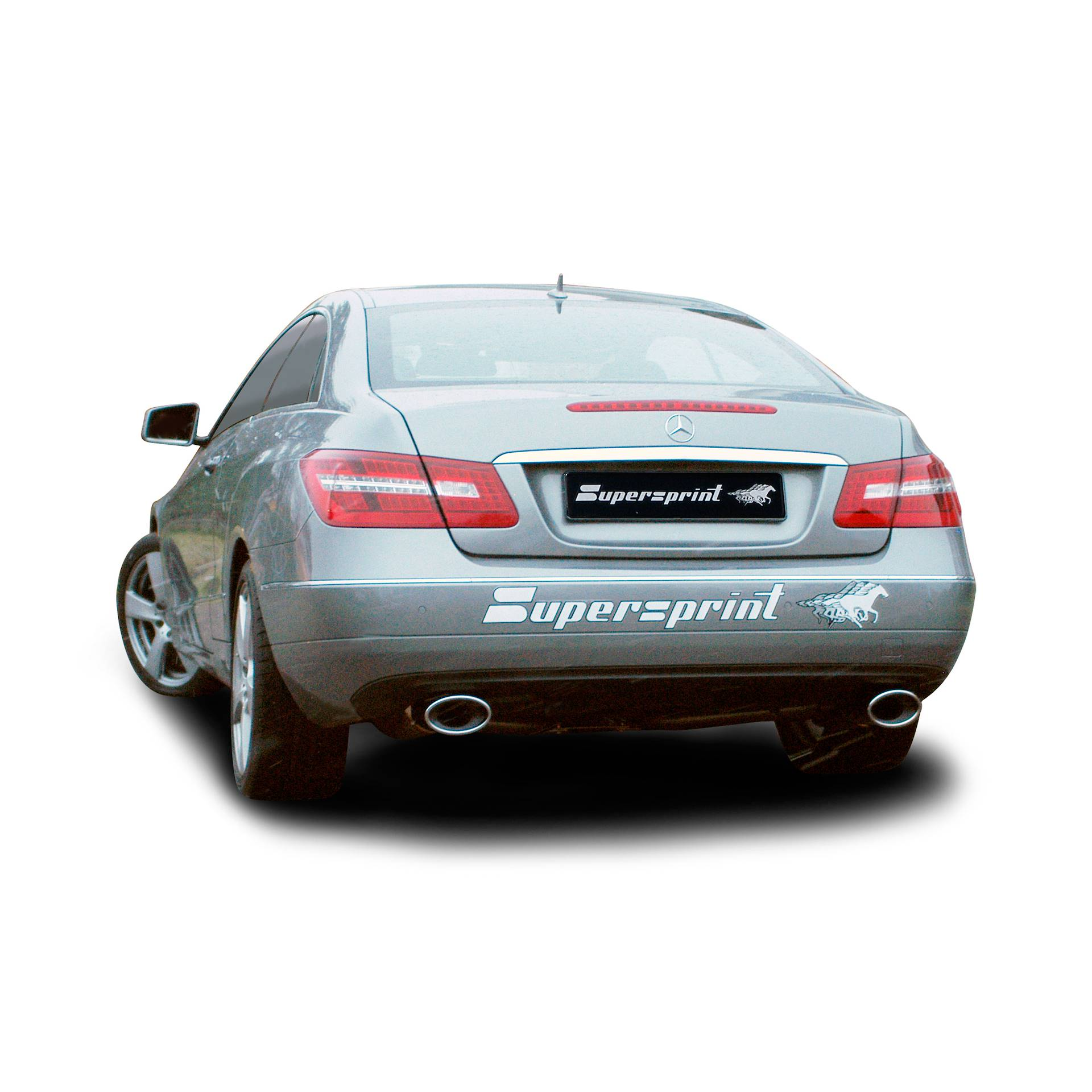 Supersprint exhaust system for Mercedes C350 CDI W204, Homemade videos