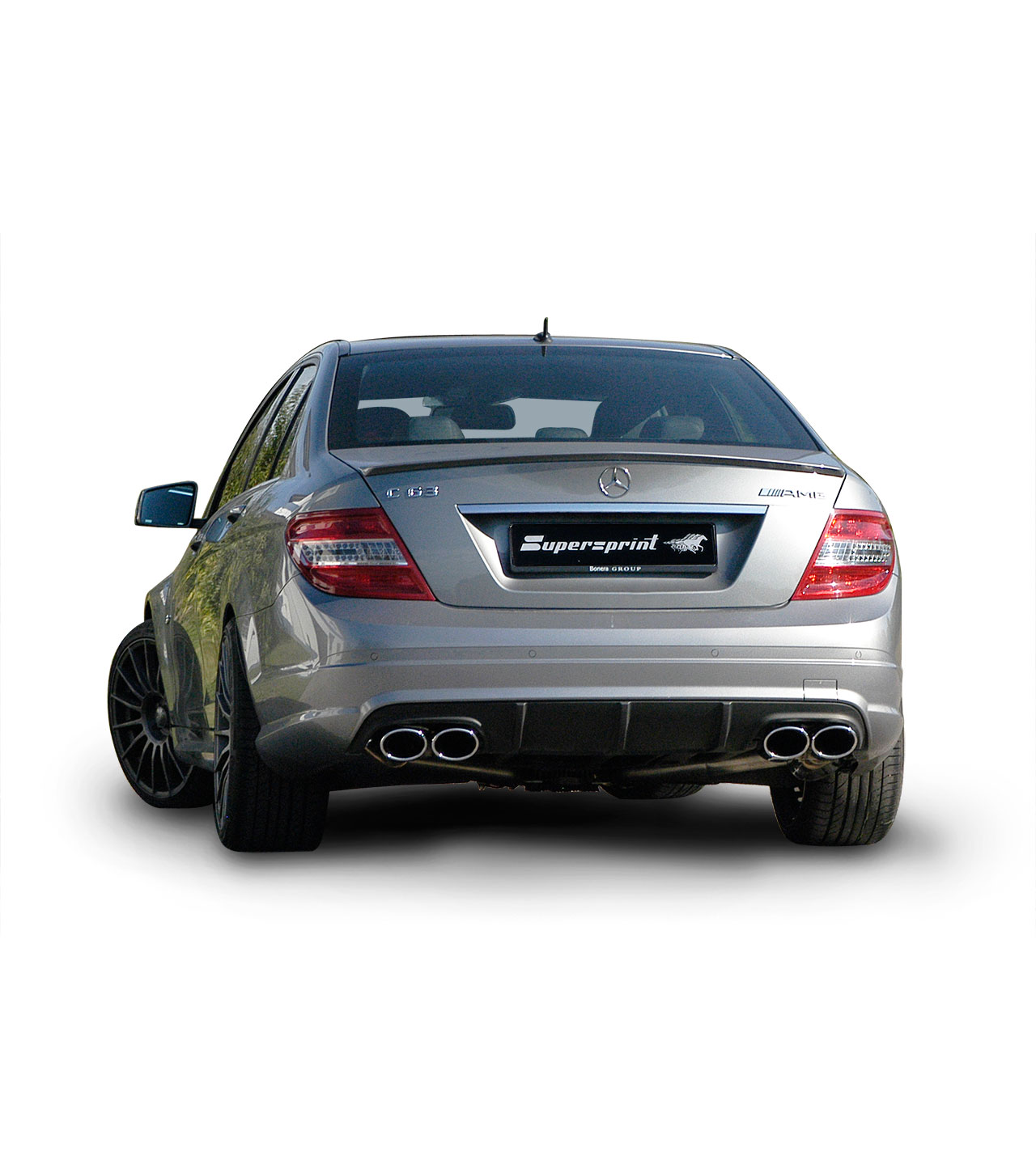 Performance sport exhaust for mercedes w204 c63 amg v8 456 for Mercedes benz c63 amg 2010