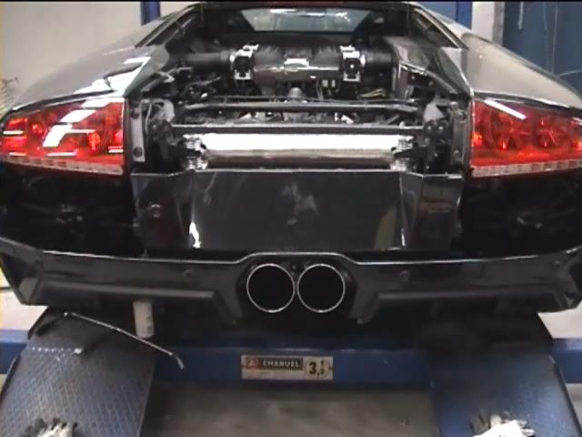 Supersprint tailpipes 350426 per Murcielago LP640 120mm