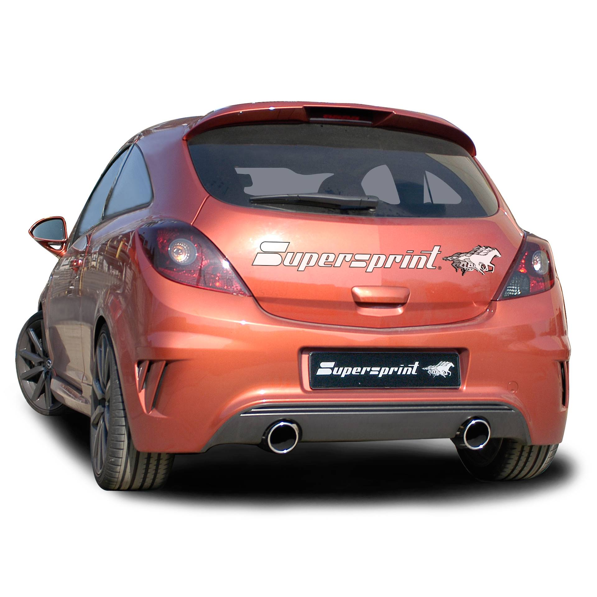 performance sport exhaust for corsa nurburgring opel. Black Bedroom Furniture Sets. Home Design Ideas