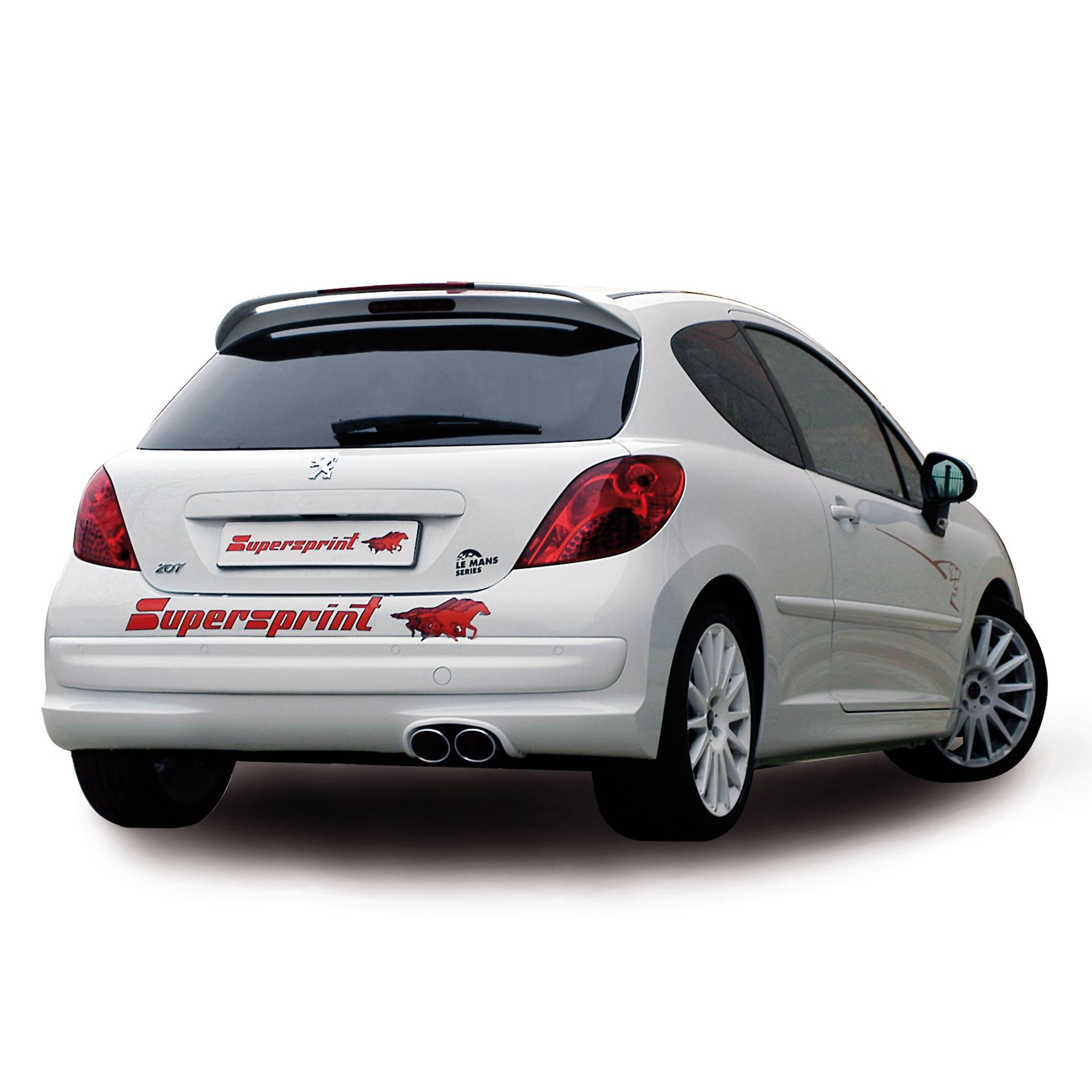peugeot 207 gti rc 16v 174 hp 39 08 peugeot exhaust systems. Black Bedroom Furniture Sets. Home Design Ideas