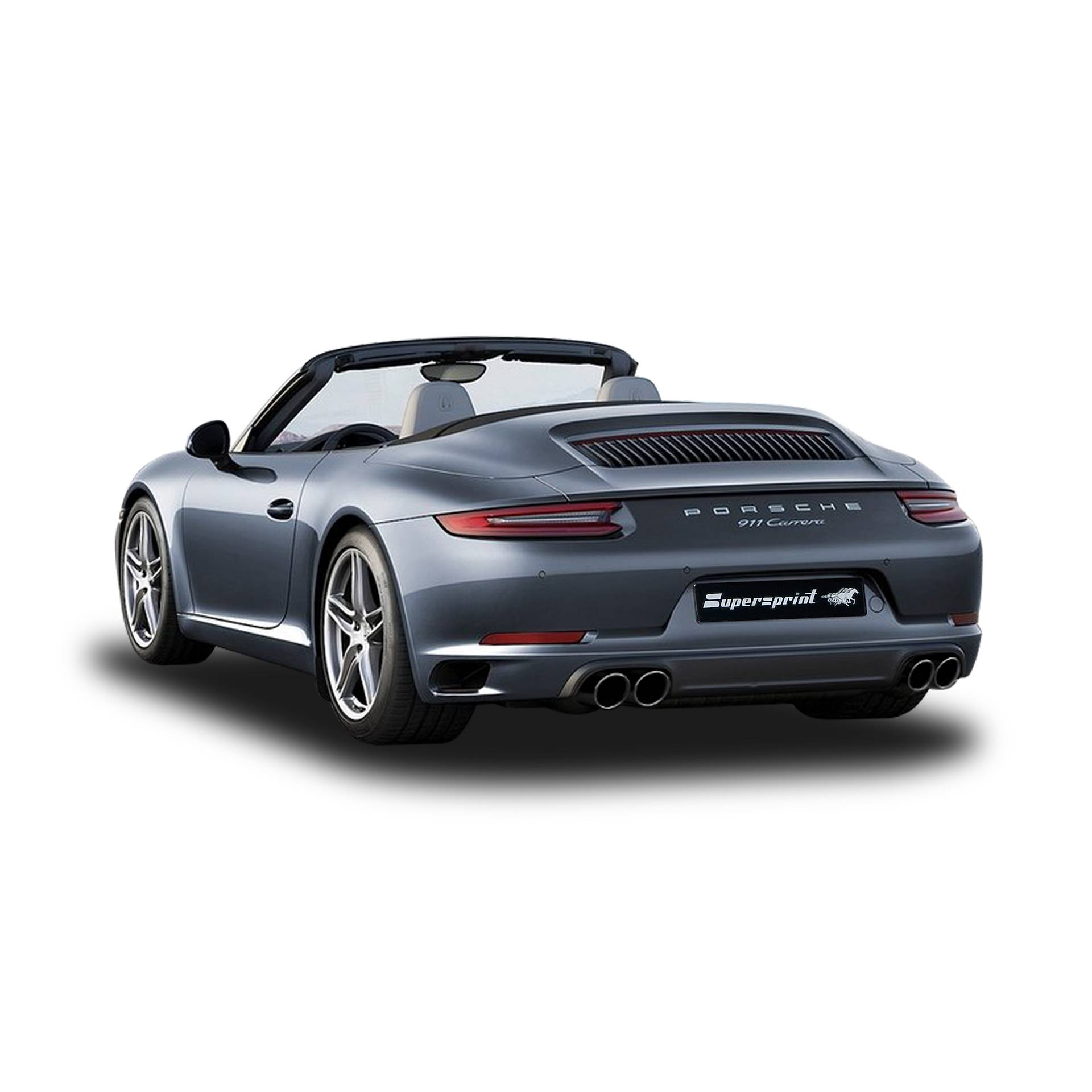Supersprint Udstødning Porsche 991 Cabrio 3.0 Turbo