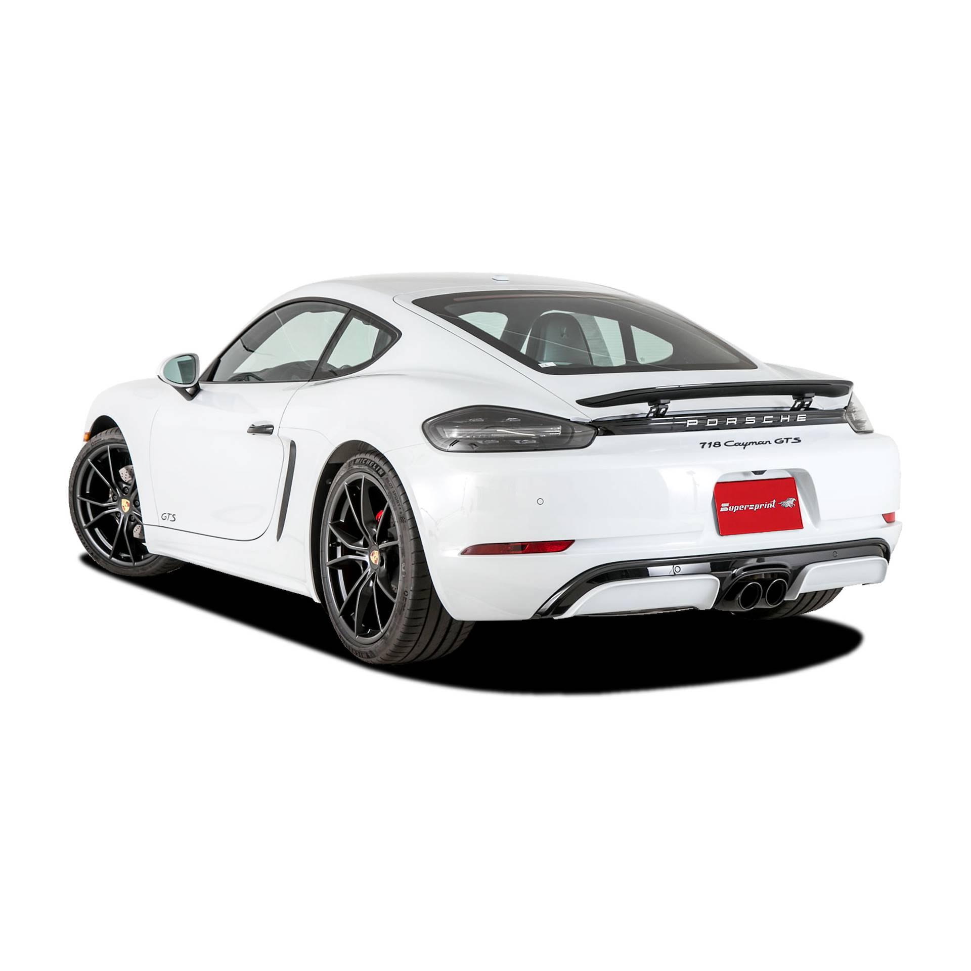 2018 Porsche 718 Cayman Camshaft: Performance Sport Exhaust For PORSCHE 718 CAYMAN GTS