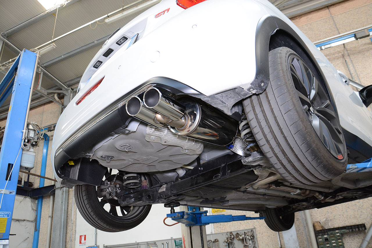 Full sport exhaust Supersprint Peugeot 208 GTI 30th anniversary