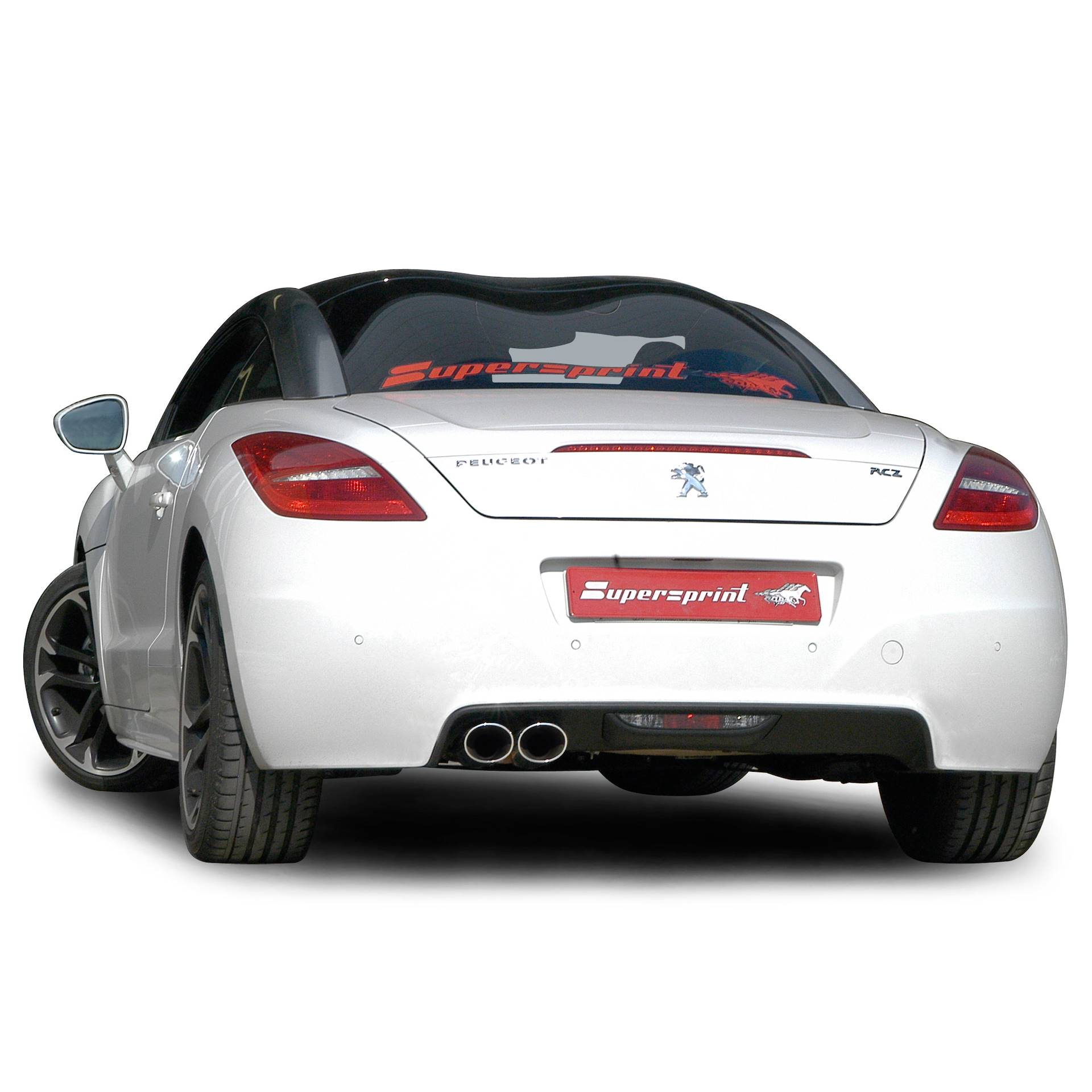 peugeot rcz 1 6 thp 156 hp 2010 2014 peugeot exhaust systems. Black Bedroom Furniture Sets. Home Design Ideas