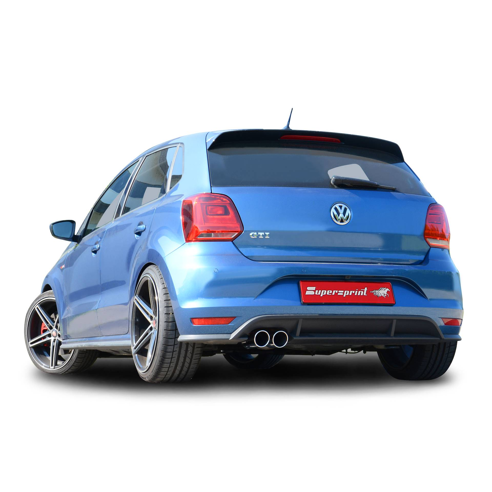 performance sport exhaust for polo gti 2015 1 8 192hp vw polo 6c gti 1 8 tsi 3d 5d 192 hp. Black Bedroom Furniture Sets. Home Design Ideas