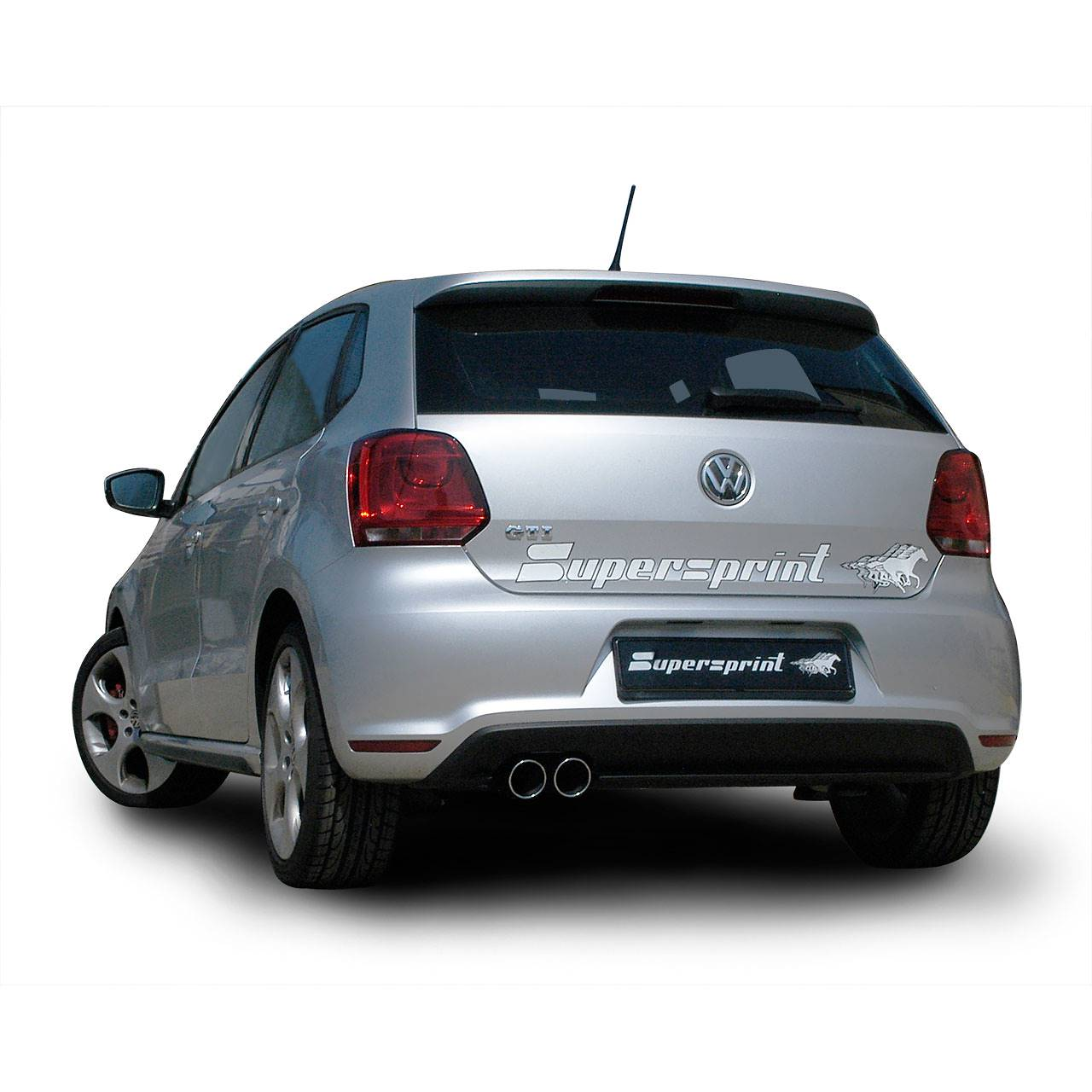 vw polo 6r gti 1 4 tsi 3d 5d 180 hp 2010 volkswagen exhaust systems. Black Bedroom Furniture Sets. Home Design Ideas