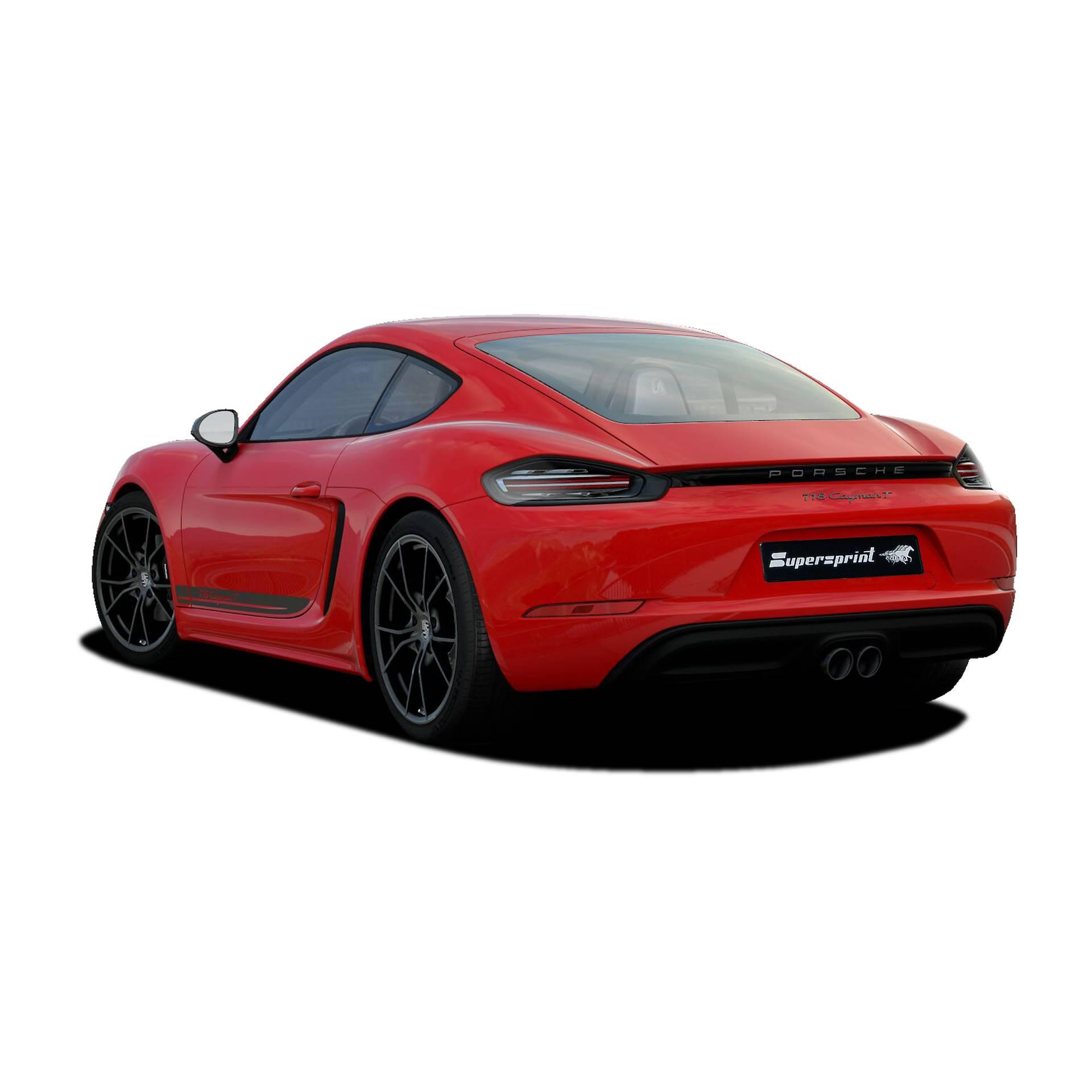 2018 Porsche 718 Cayman Camshaft: Scarico Sportivo Per PORSCHE 718 CAYMAN T Con Valvola