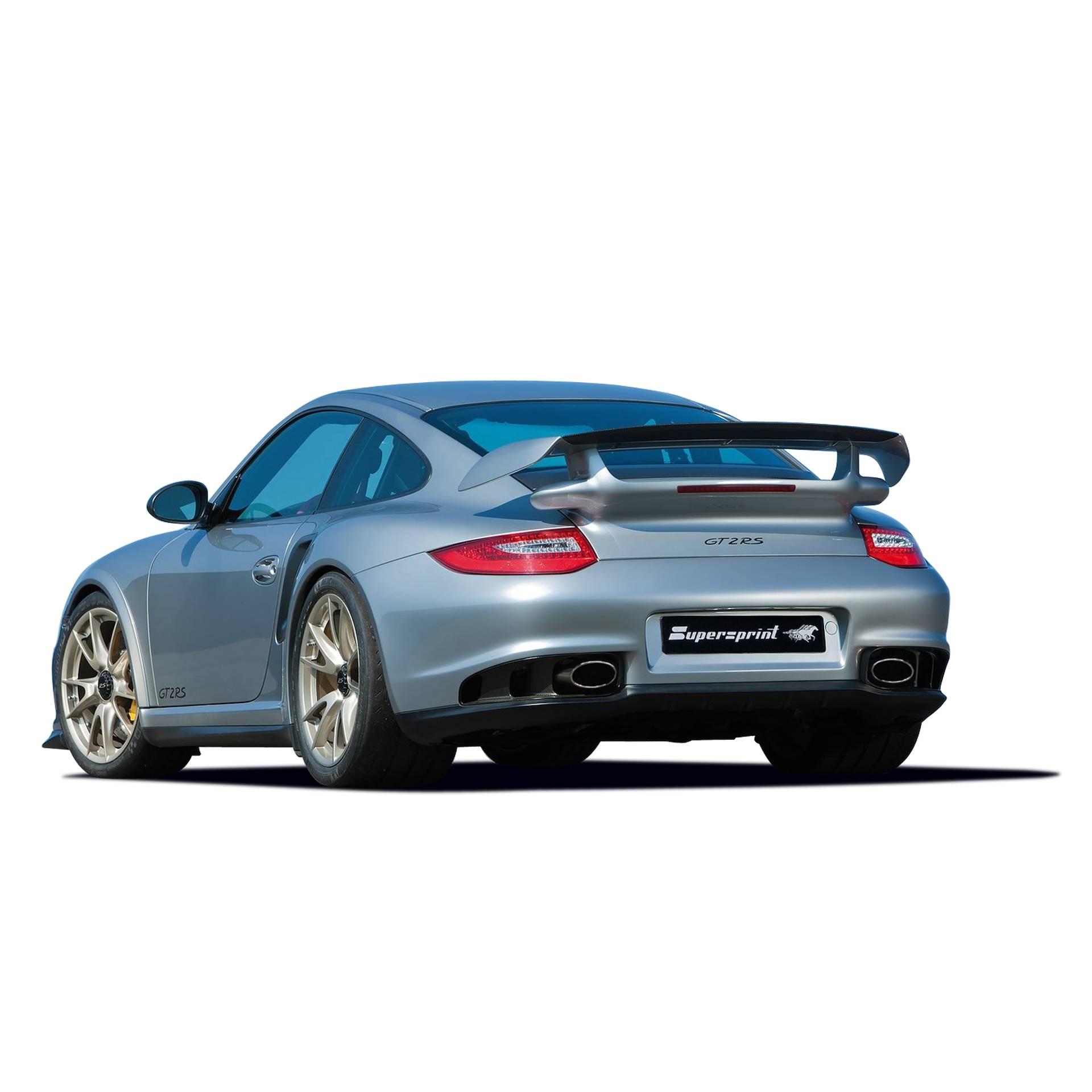 Performance Sport Exhaust For Porsche 997 2 Gt2 Rs