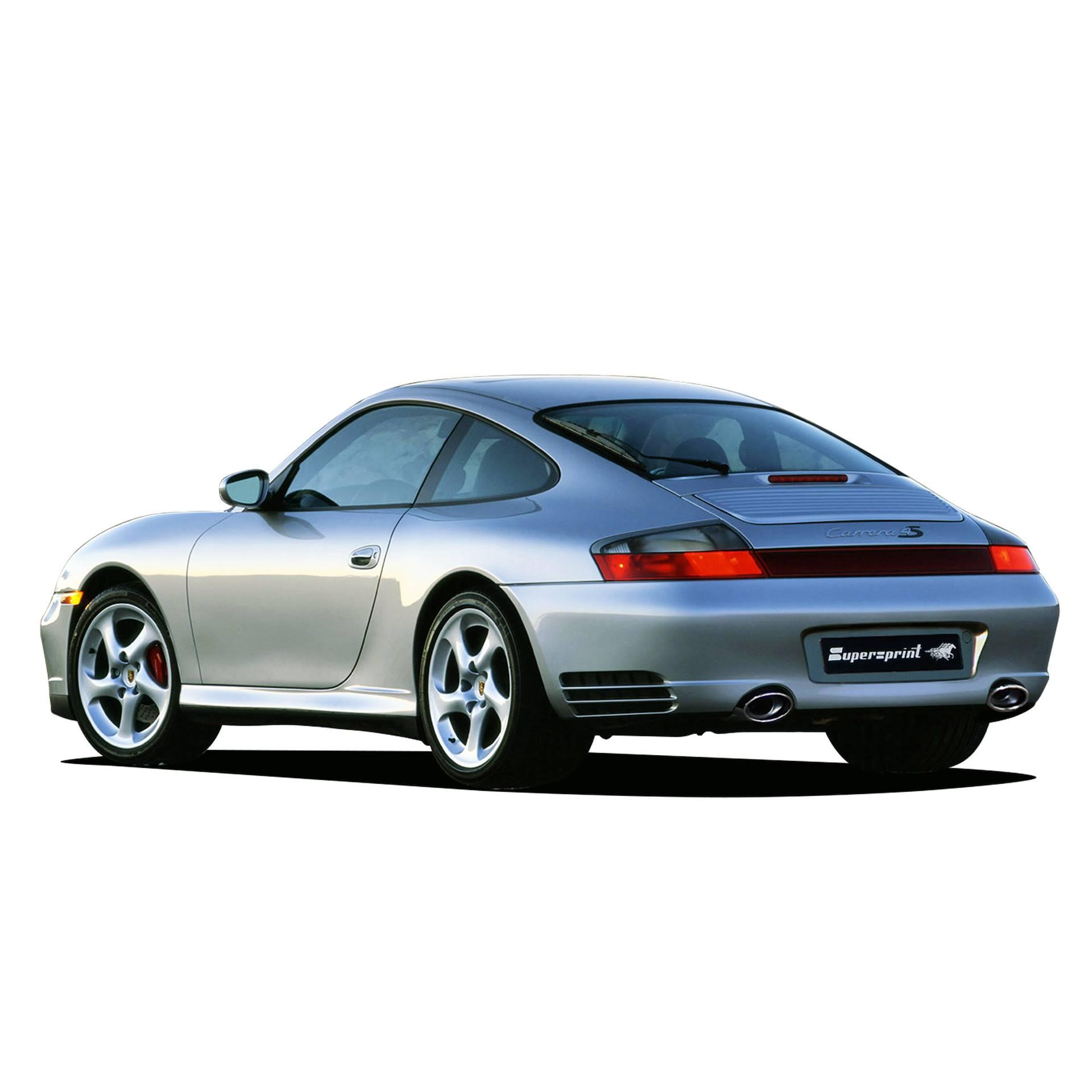 performance sport exhaust for porsche 911 996 carrera 4s porsche 996 carrera 4s 320 hp. Black Bedroom Furniture Sets. Home Design Ideas