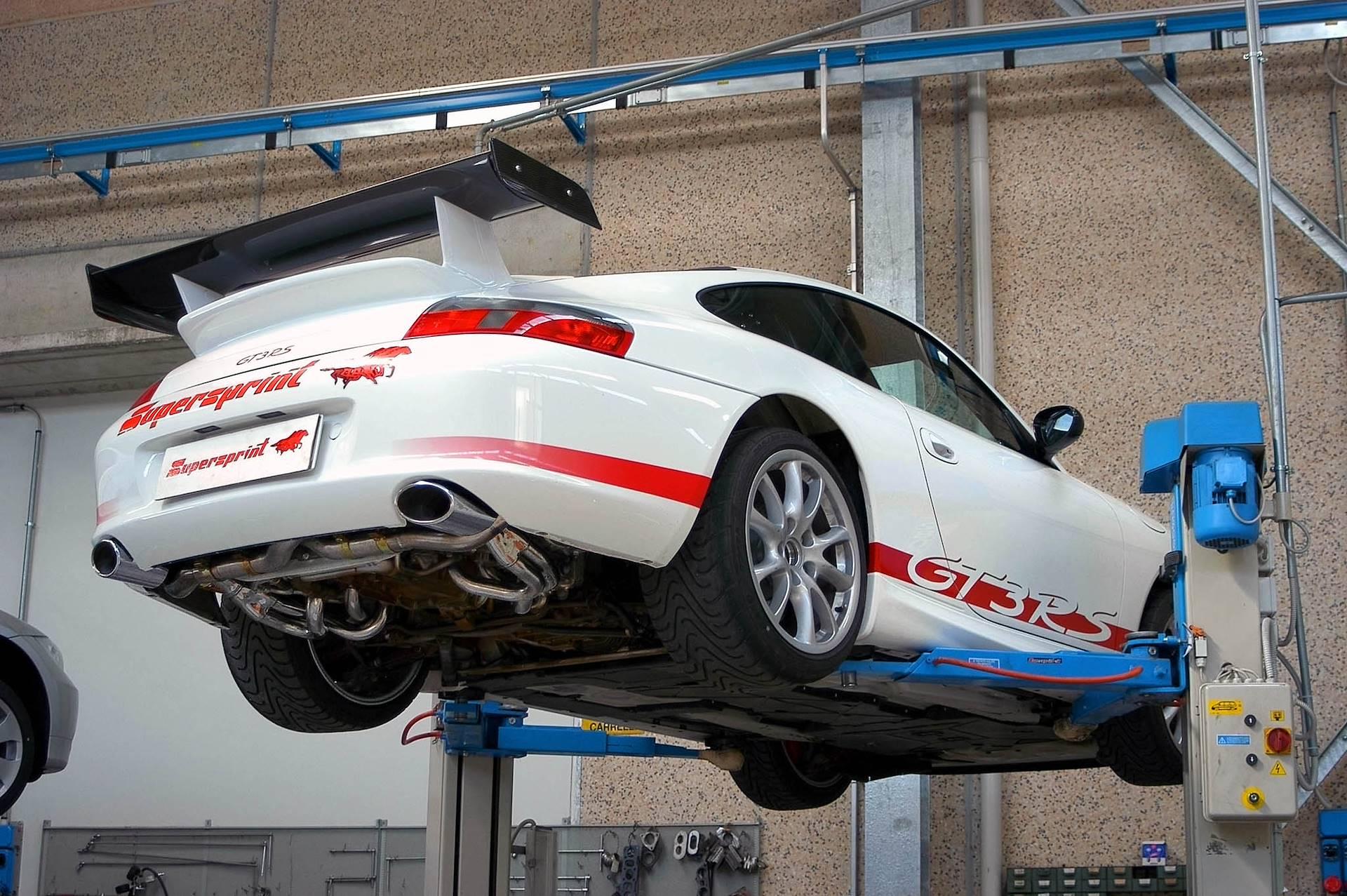 performance sport exhaust for porsche
