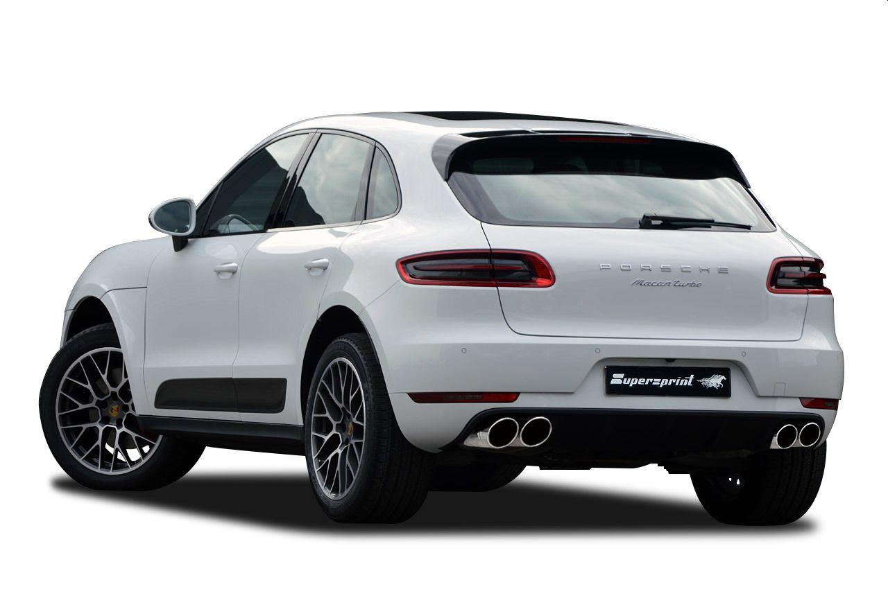 Performance Sport Exhaust For Porsche Macan Turbo Porsche