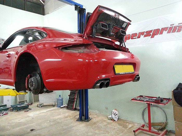 Porsche Carrera S 997 Supersprint 245613 + 245654 + 245674 + 245626 + 245646