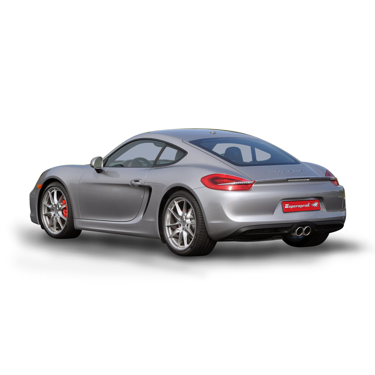 aka: Performance sport exhaust for PORSCHE 981 CAYMAN S
