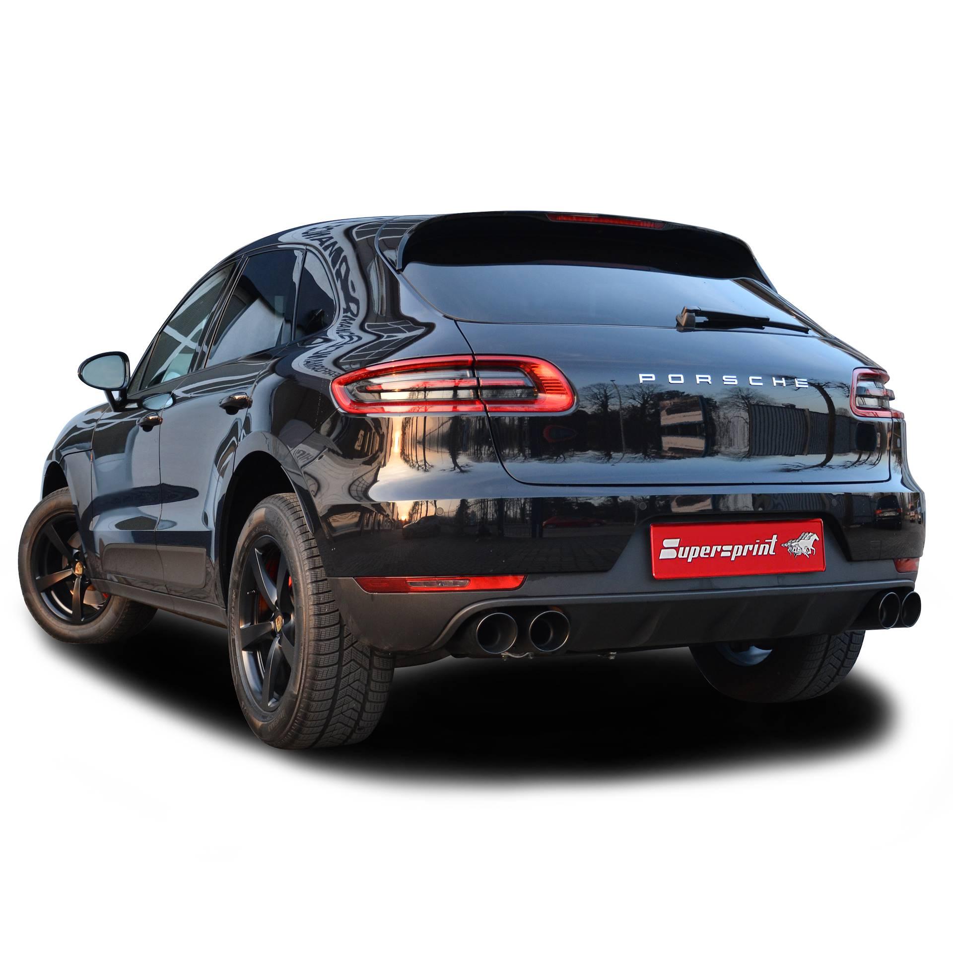 Porsche Macan: Performance Exhaust Systems, Performance Racing Exhaust