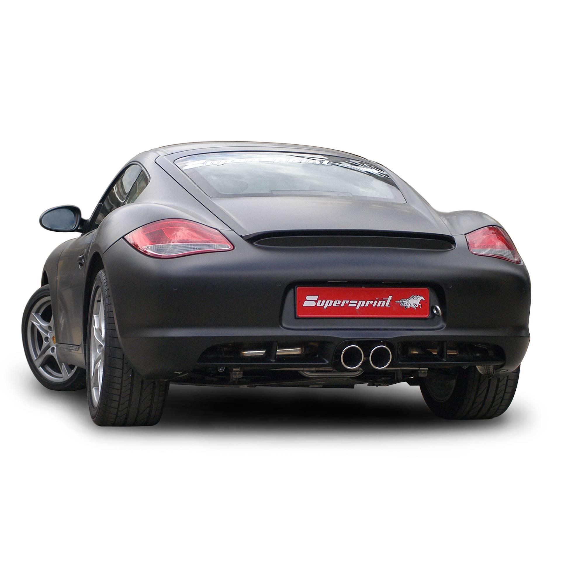 Porsche Cayman: Performance Sport Exhaust For Porsche 987 Cayman S 320 Hp