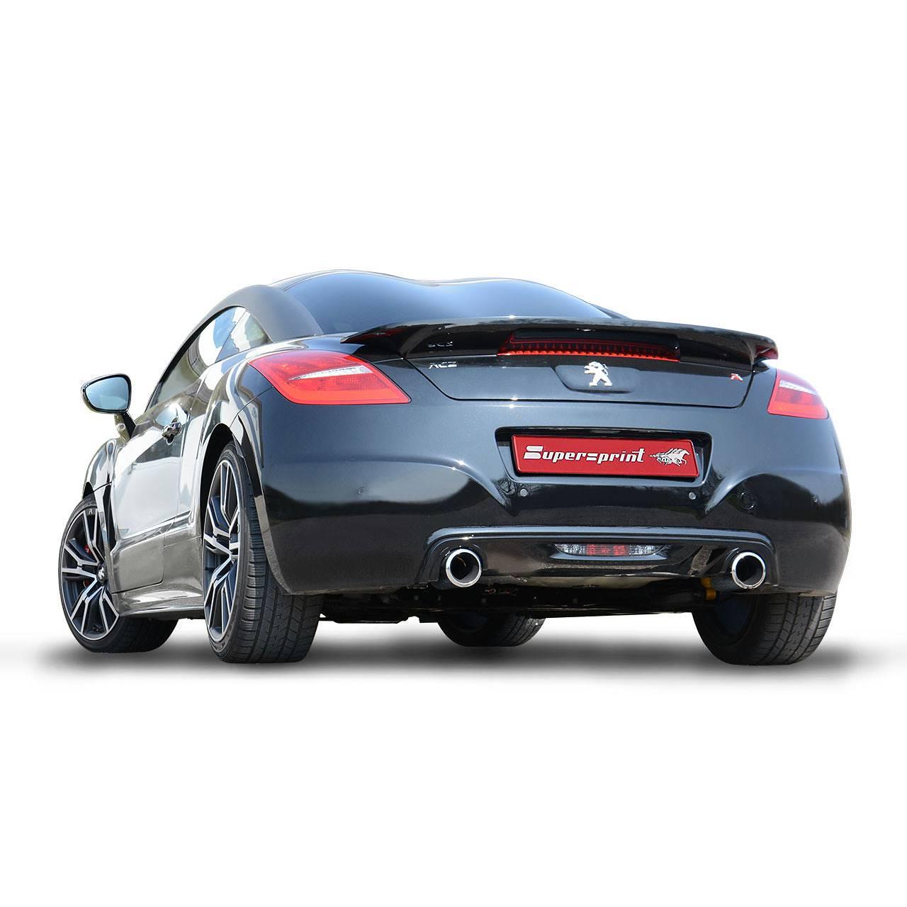 peugeot rcz r 1 6t 270 hp 2013 u003e 2015 peugeot exhaust systems rh supersprint com Peugeot RCZ Black and White peugeot rcz user manual pdf