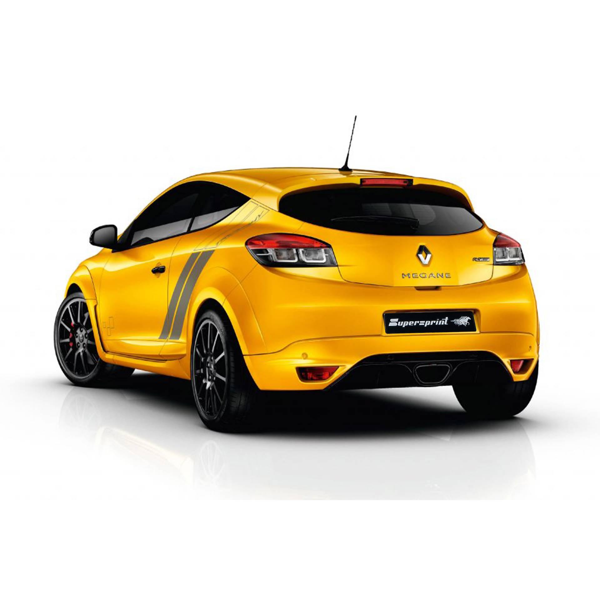 Sportauspuff Anlage Fur Renault Megane 3 Rs Trophy 275 Renault