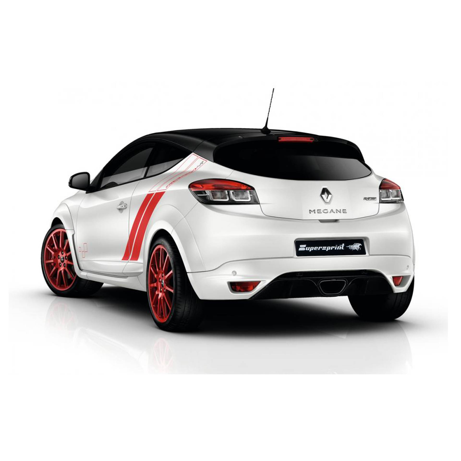Performance Sport Exhaust For Renault Megane 3 Rs Trophy R